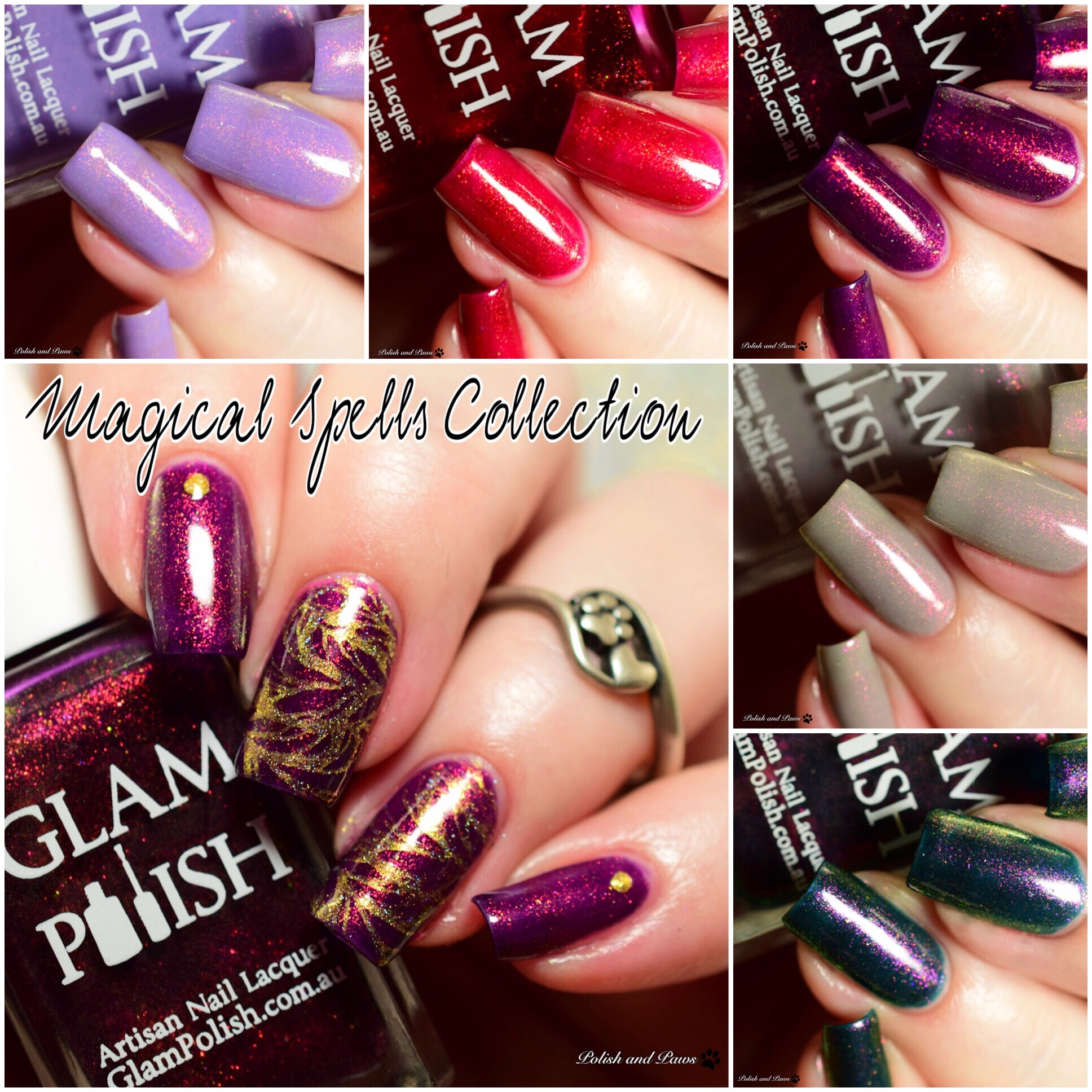 Glam Polish Magical Spells Collection Limited Edition