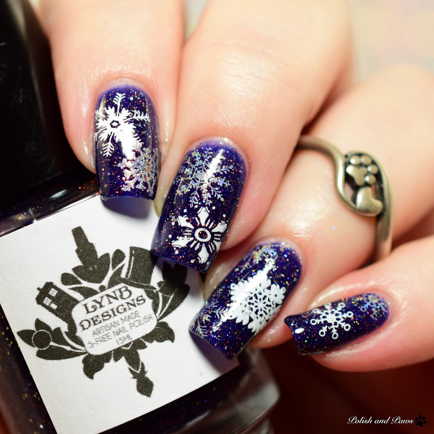 LynB Designs Simply Meant to Be nail art
