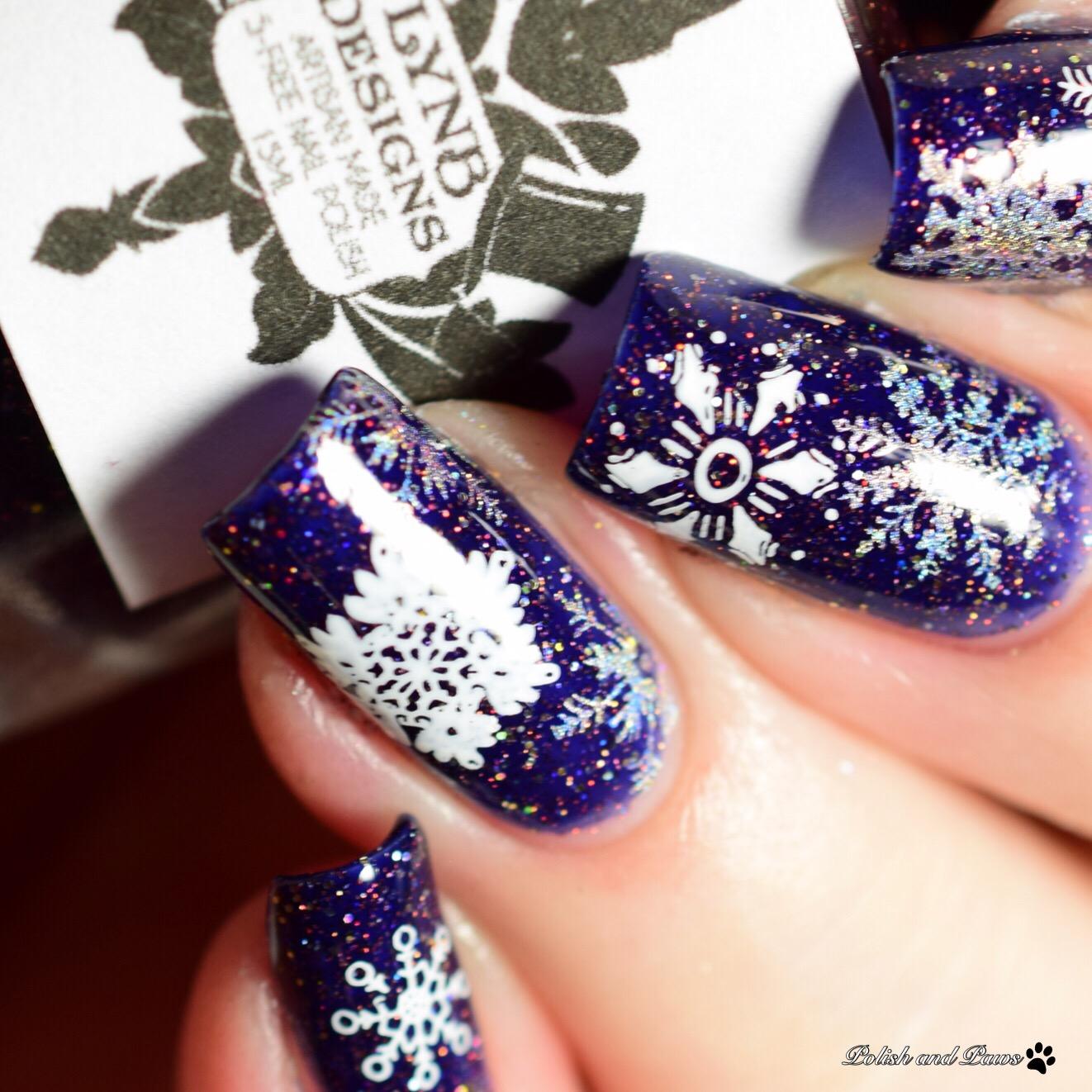 Nicole Diary ND-029 Nail Art