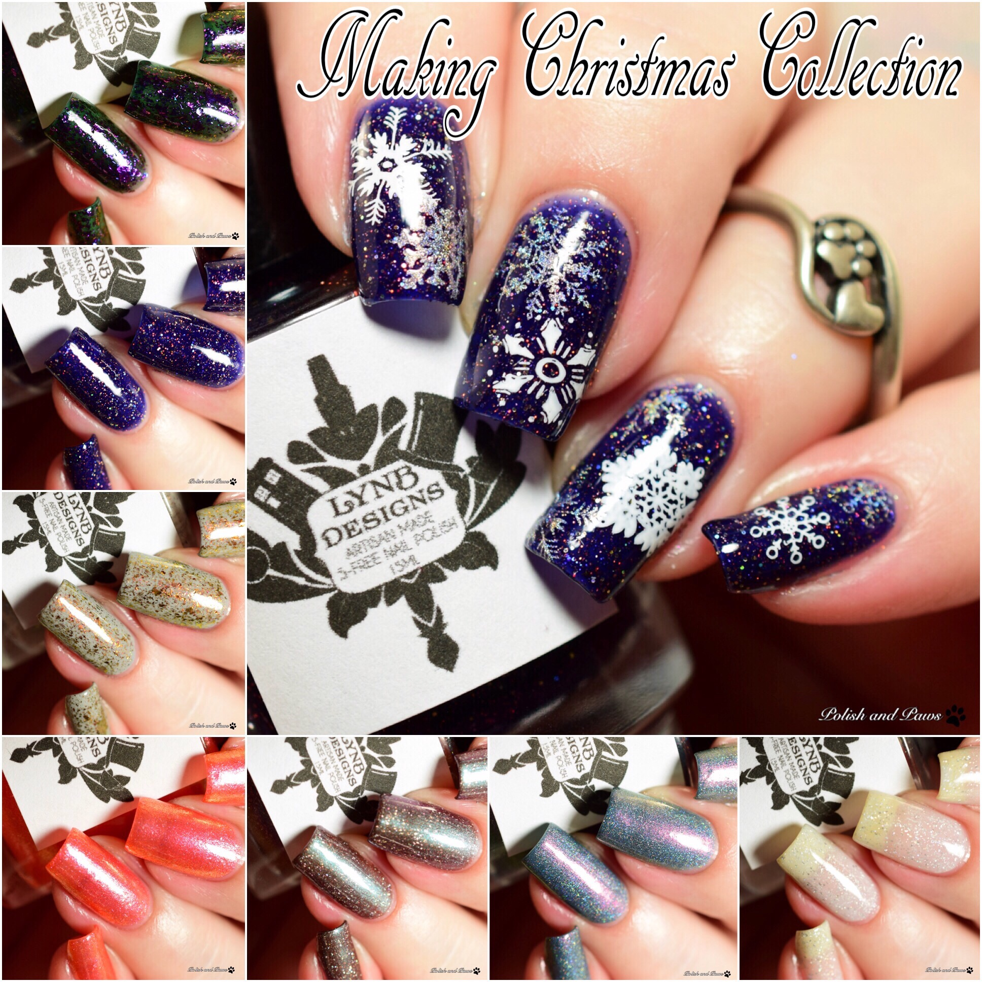 LynB Designs Making Christmas Collection