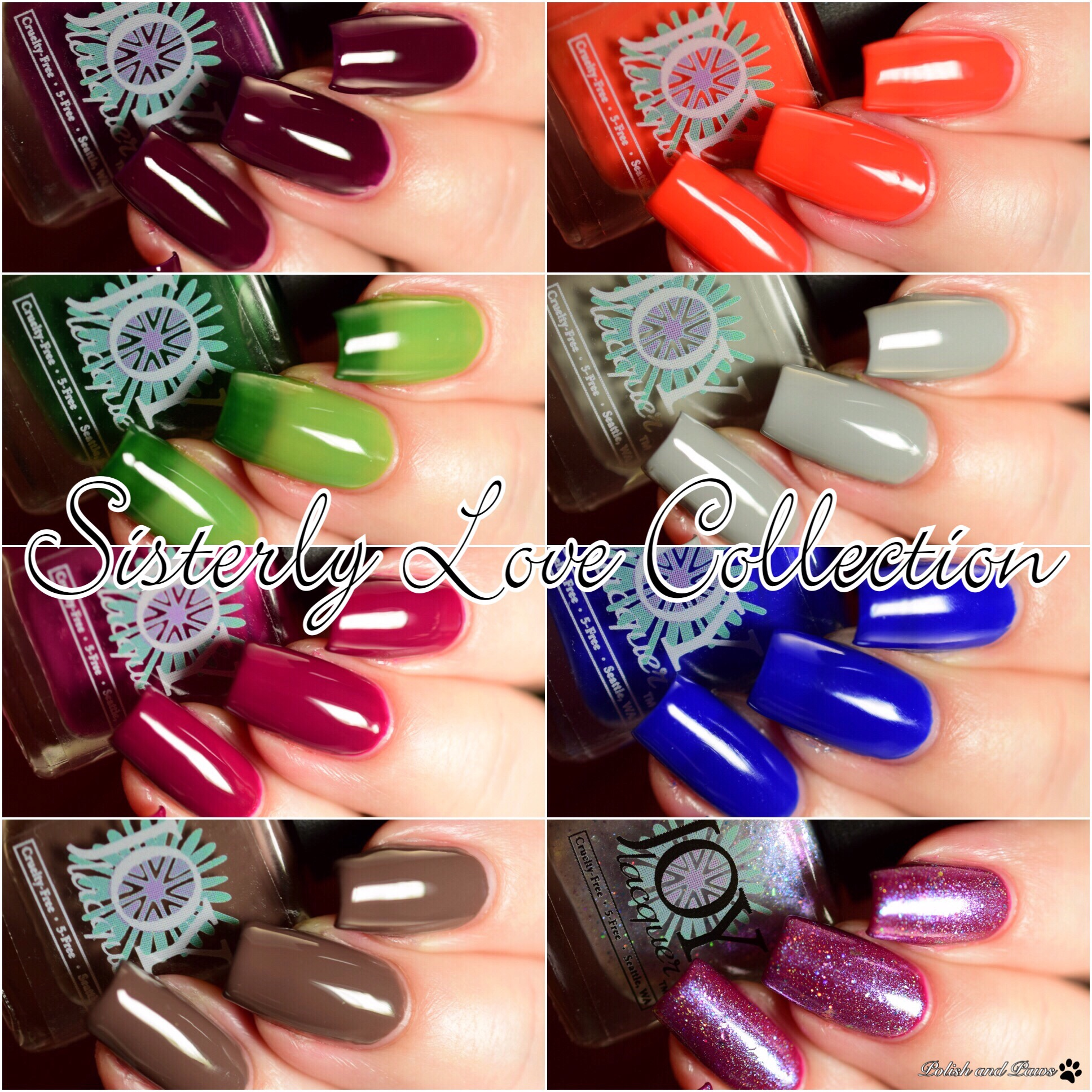Joy Lacquer Sisterly Love Collection