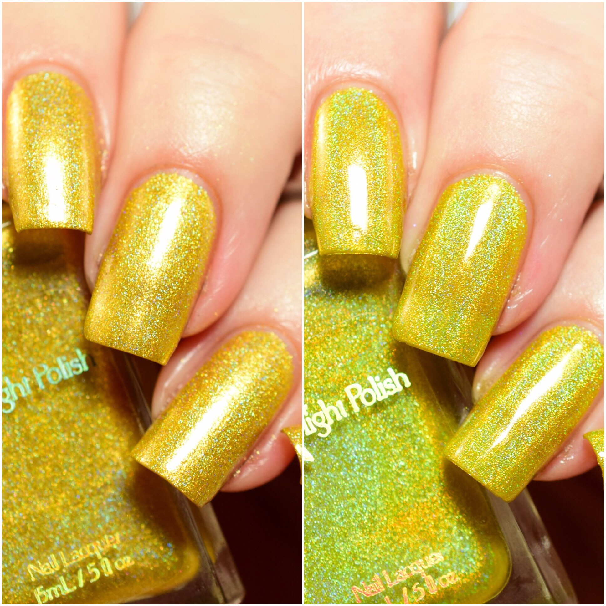 Starlight Polish Golden Rings vs Candle Lights
