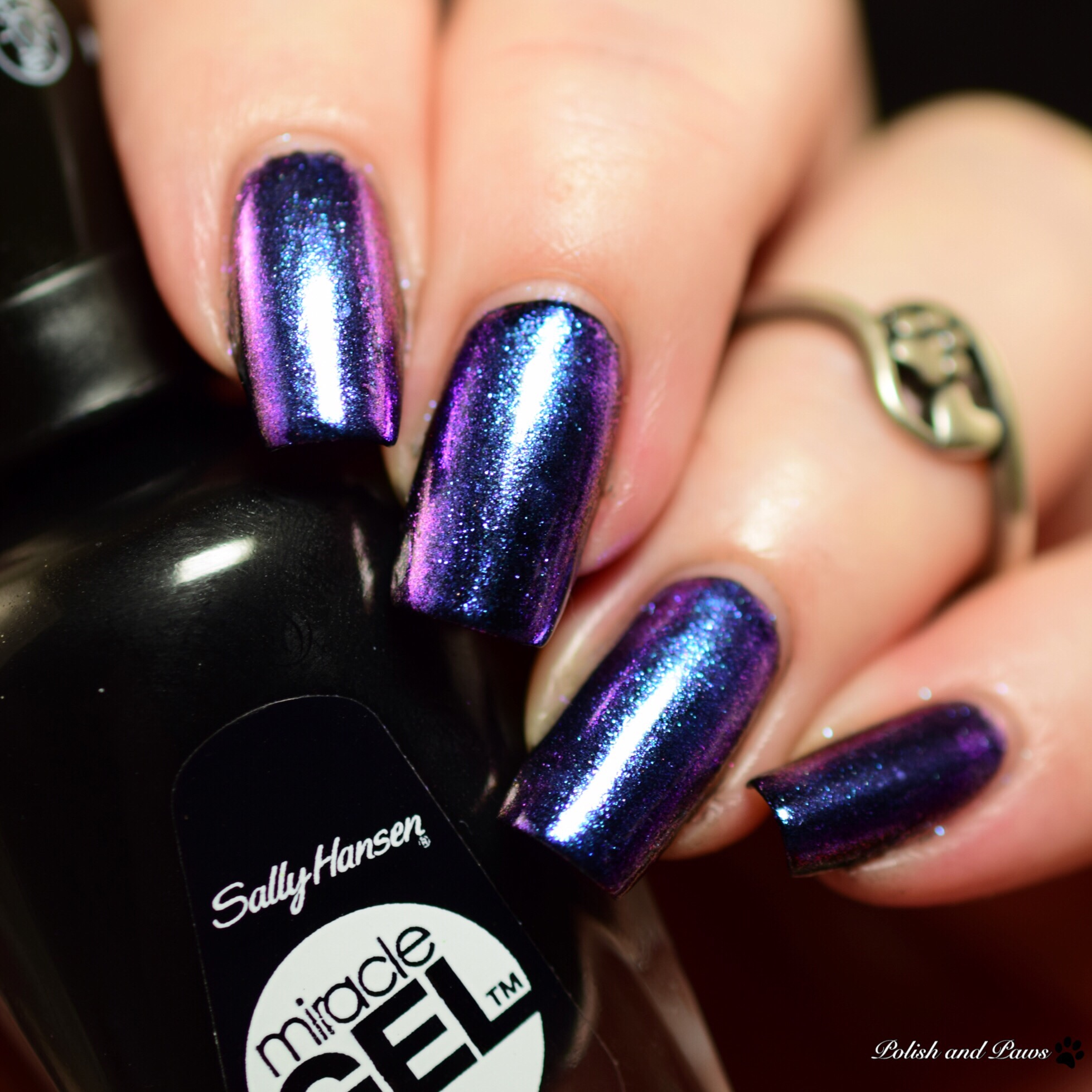 Sally Hansen Chrome Kit Peacock