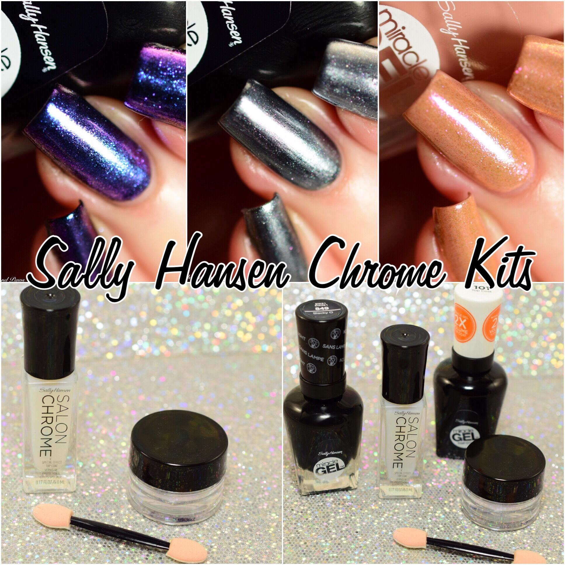Sally Hansen Chrome Kits