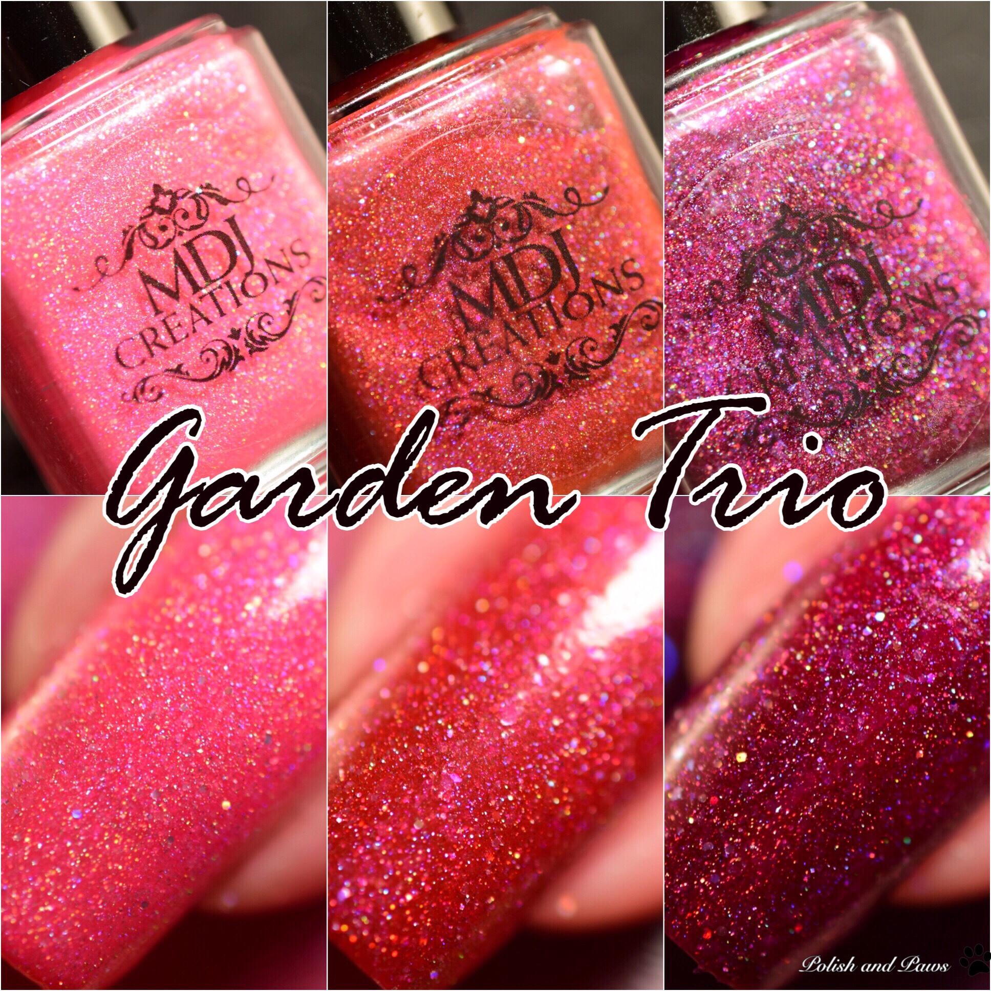 MDJ Creations Garden Trio
