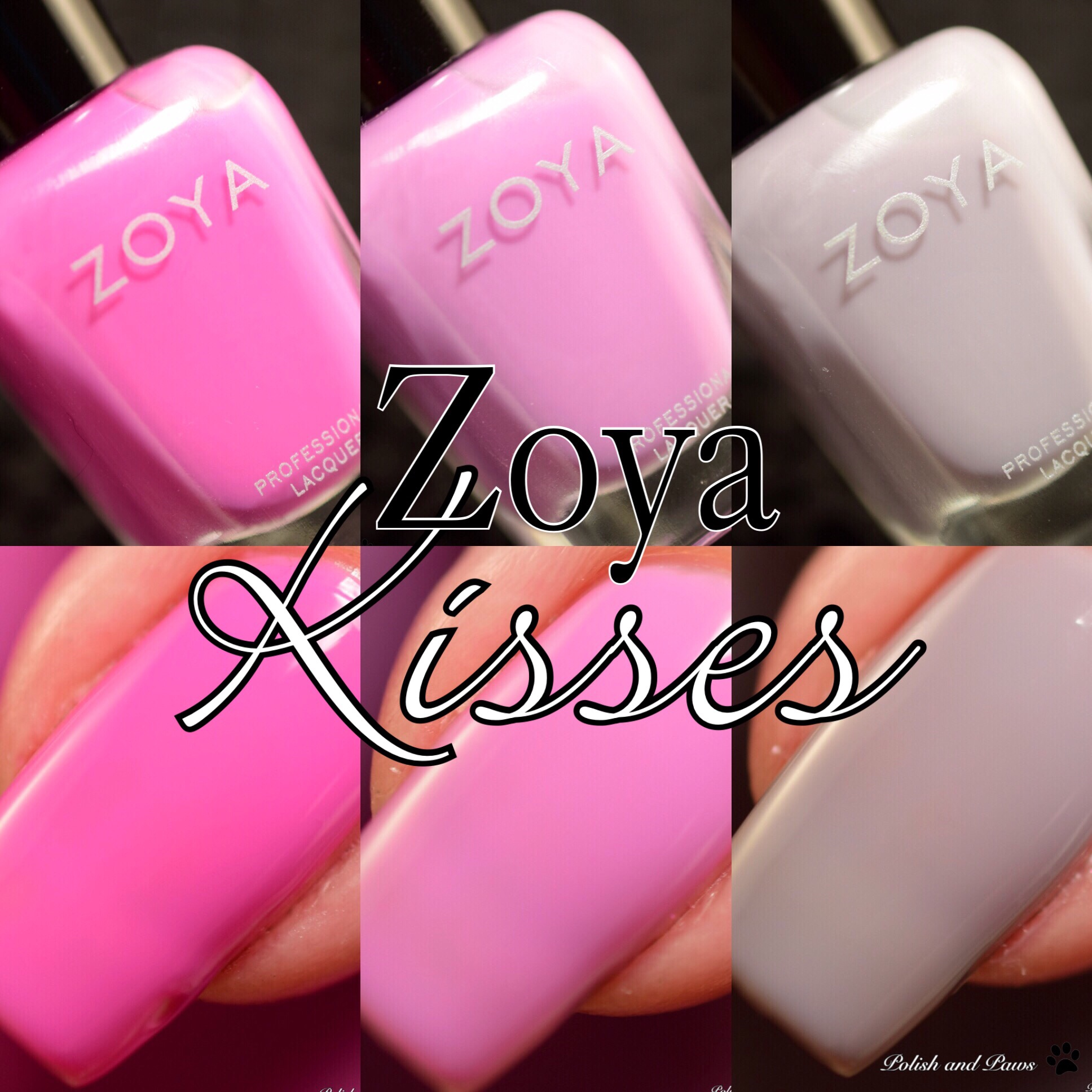 Zoya Kisses Pastel Jellies