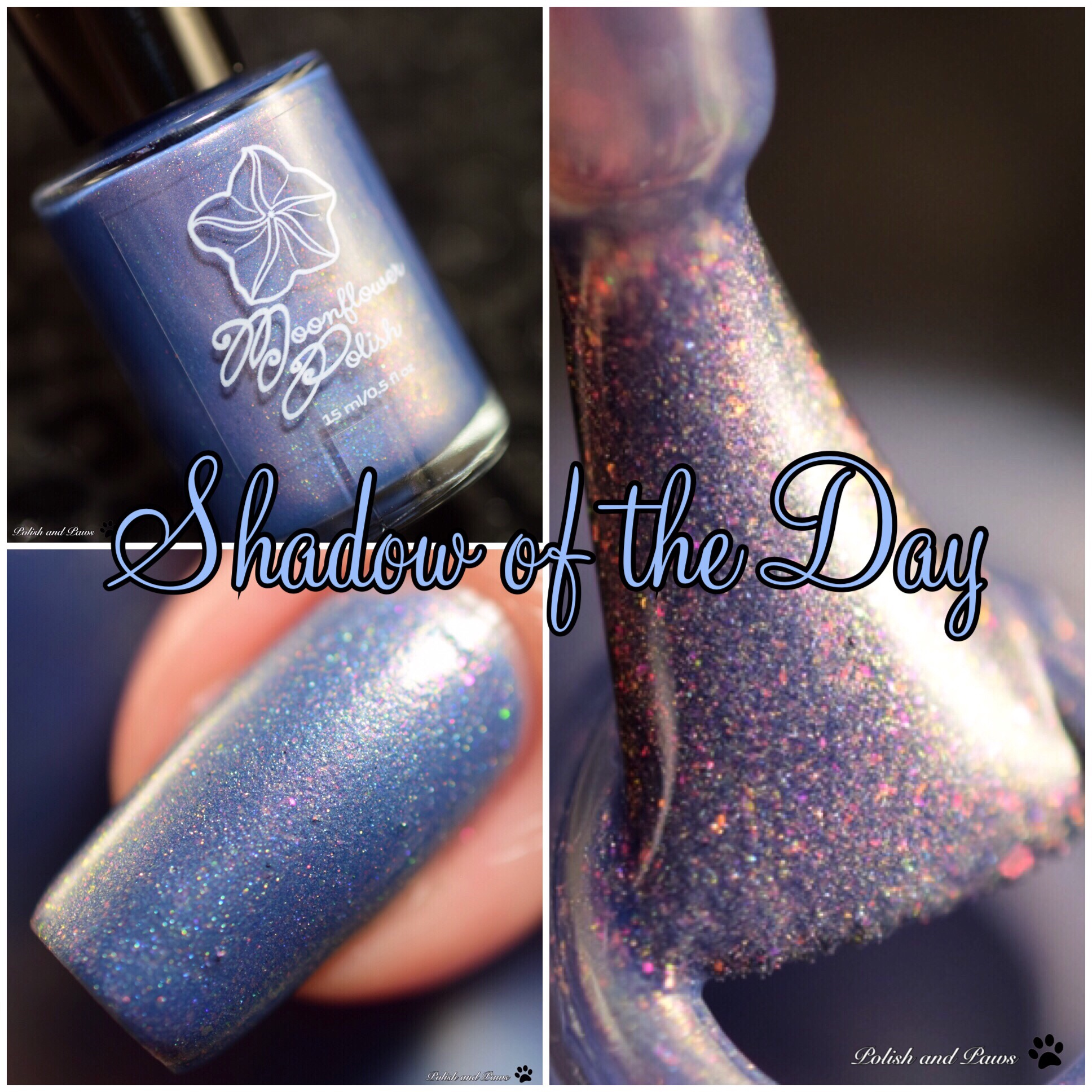Moonflower Polish Shadow of the Day