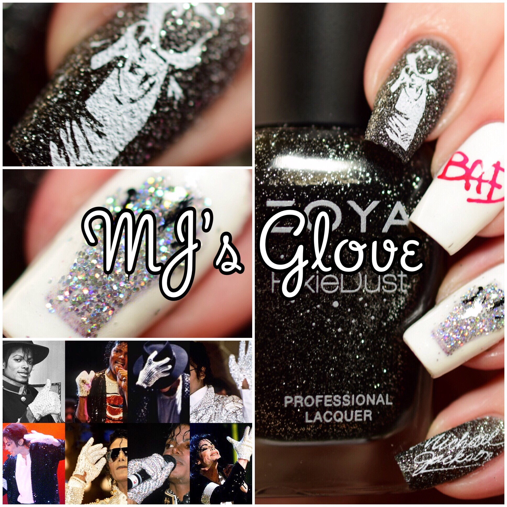 The Digit-al Dozen does All that Glitters ~ MJ's Glove