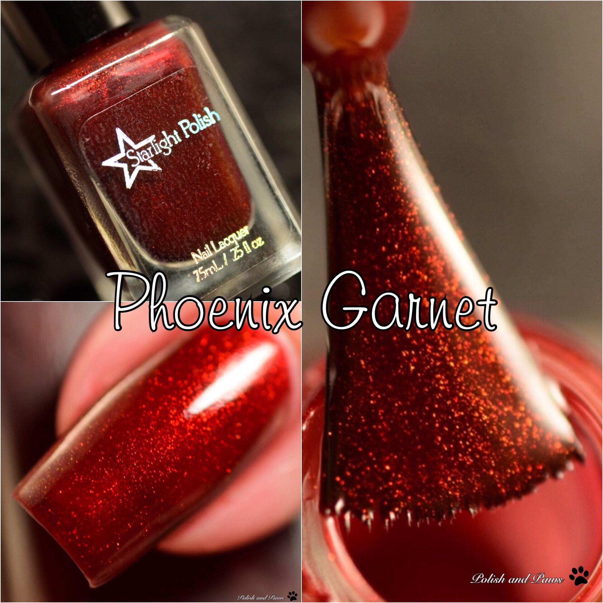 Starlight Polish Phoenix Garnet