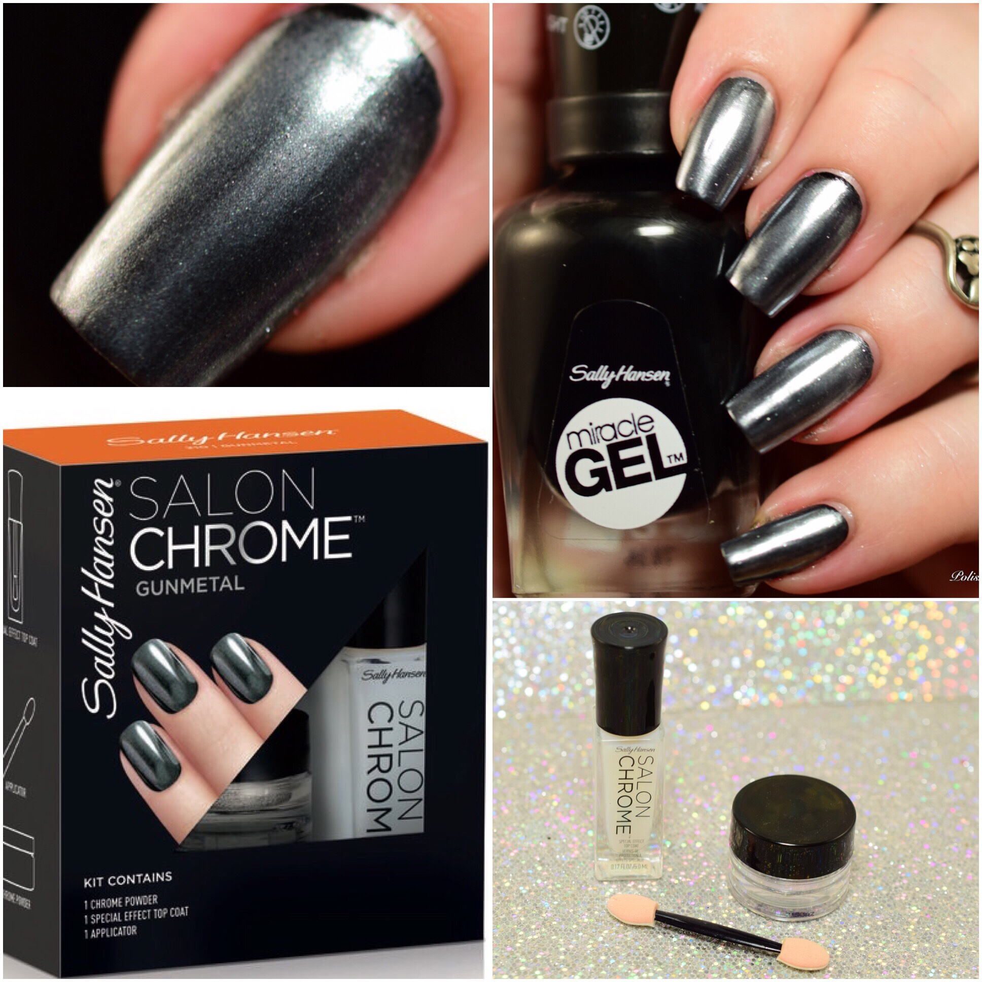 Sally Hansen Chrome Kit Gunmetal