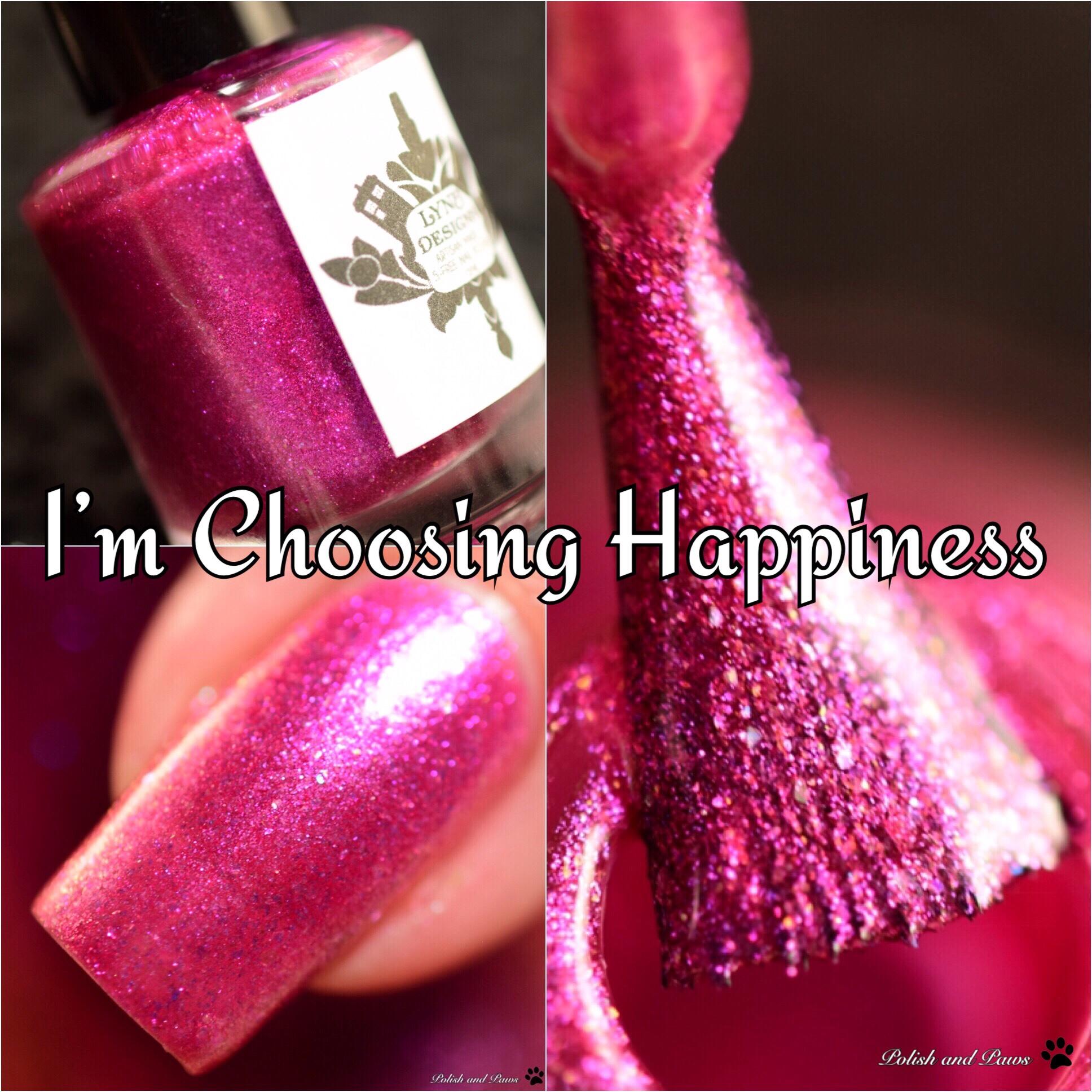 LynB Designs I'm Choosing Happiness