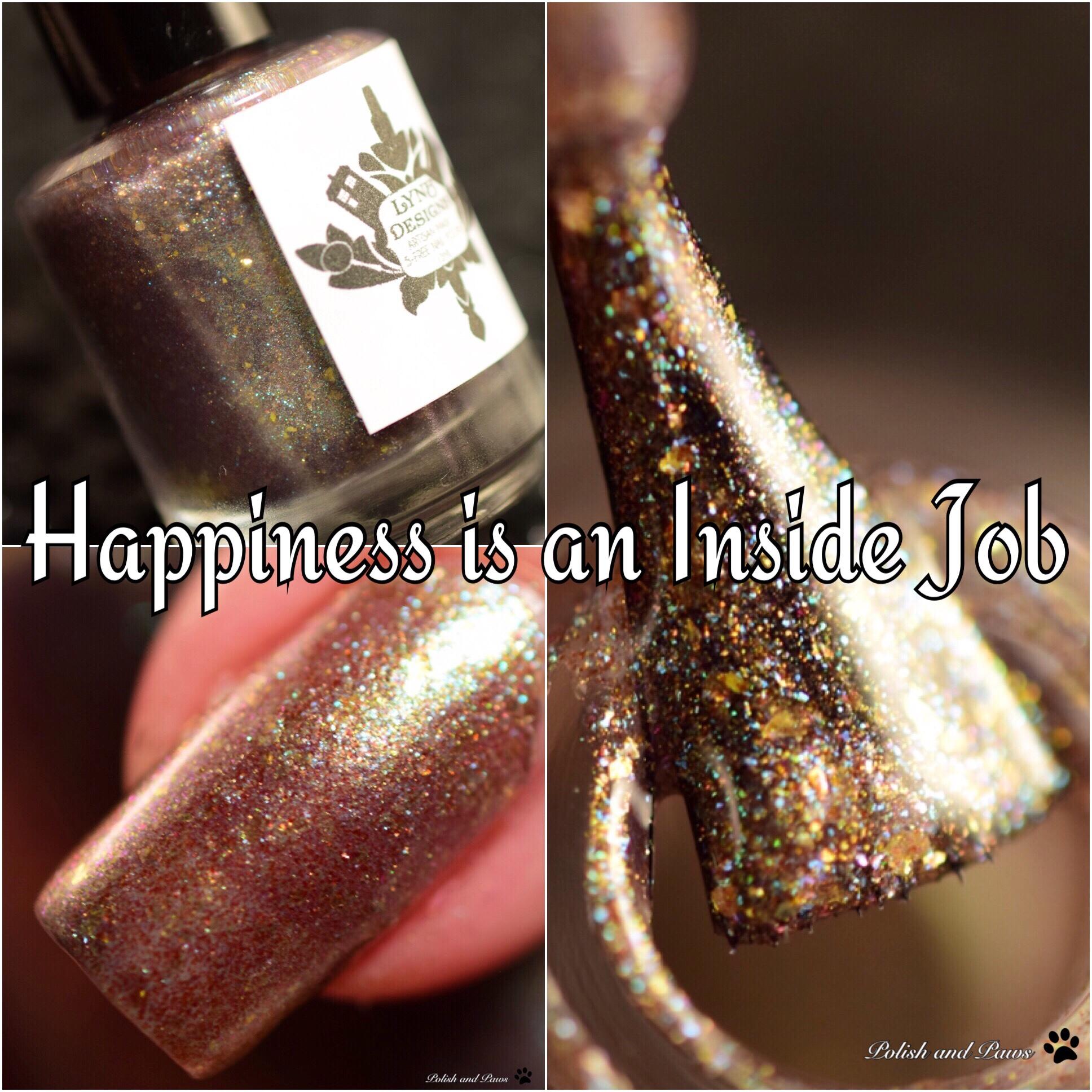 LynB Designs Happiness is an Inside Job