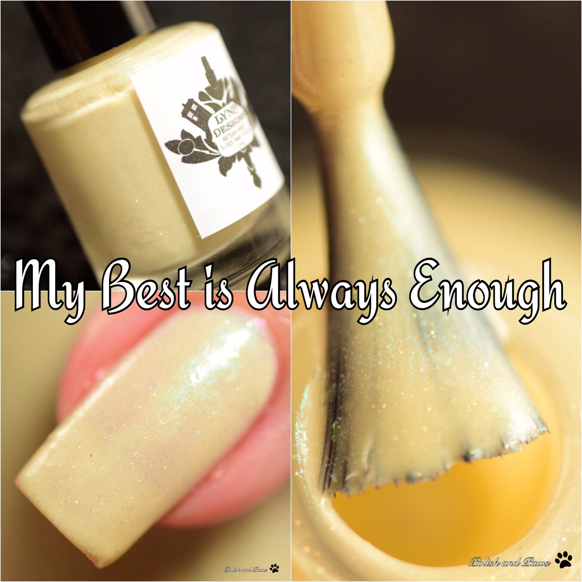 LynB Designs My Best is Always Enough