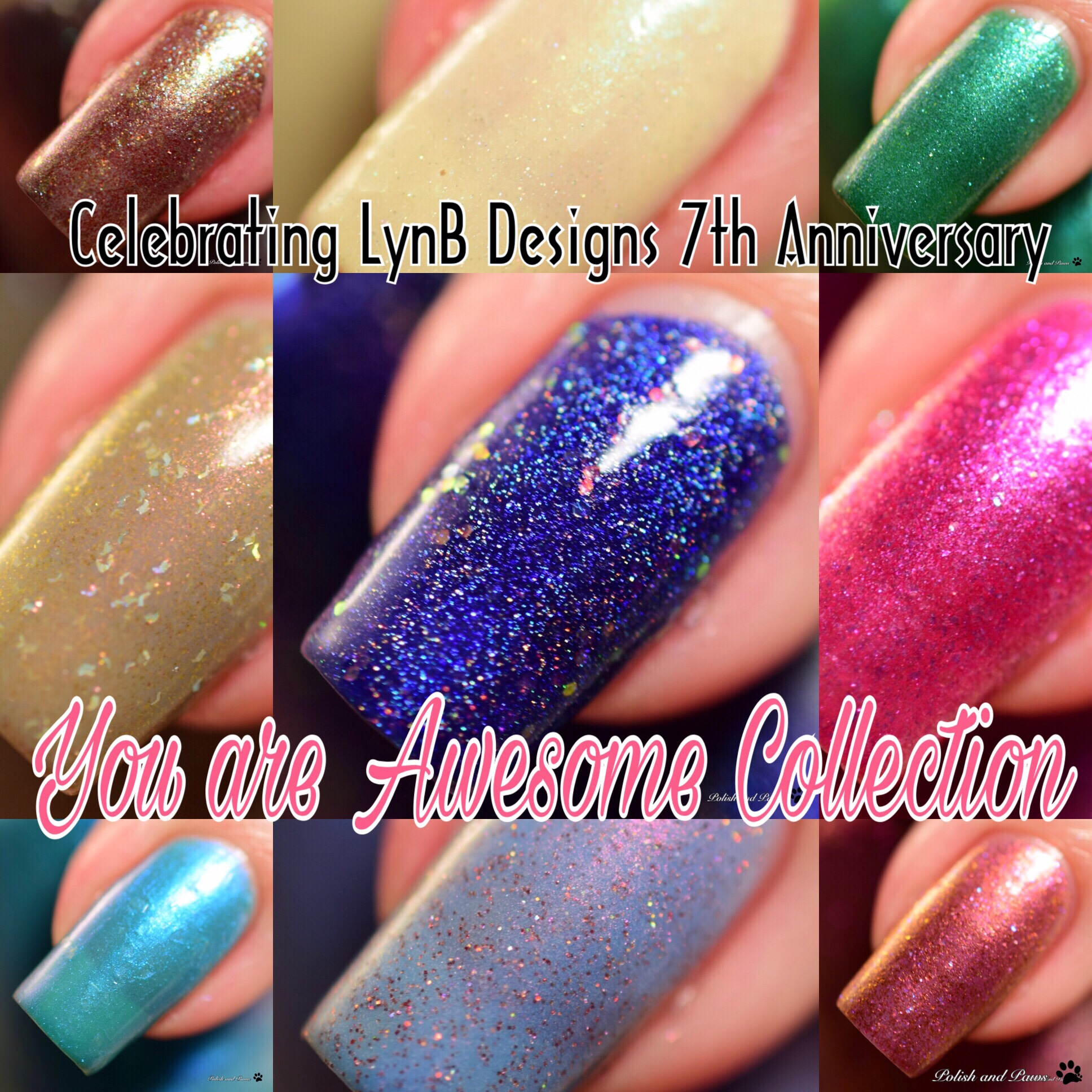 LynB Designs You Are Awesome 7th Anniversary Collection