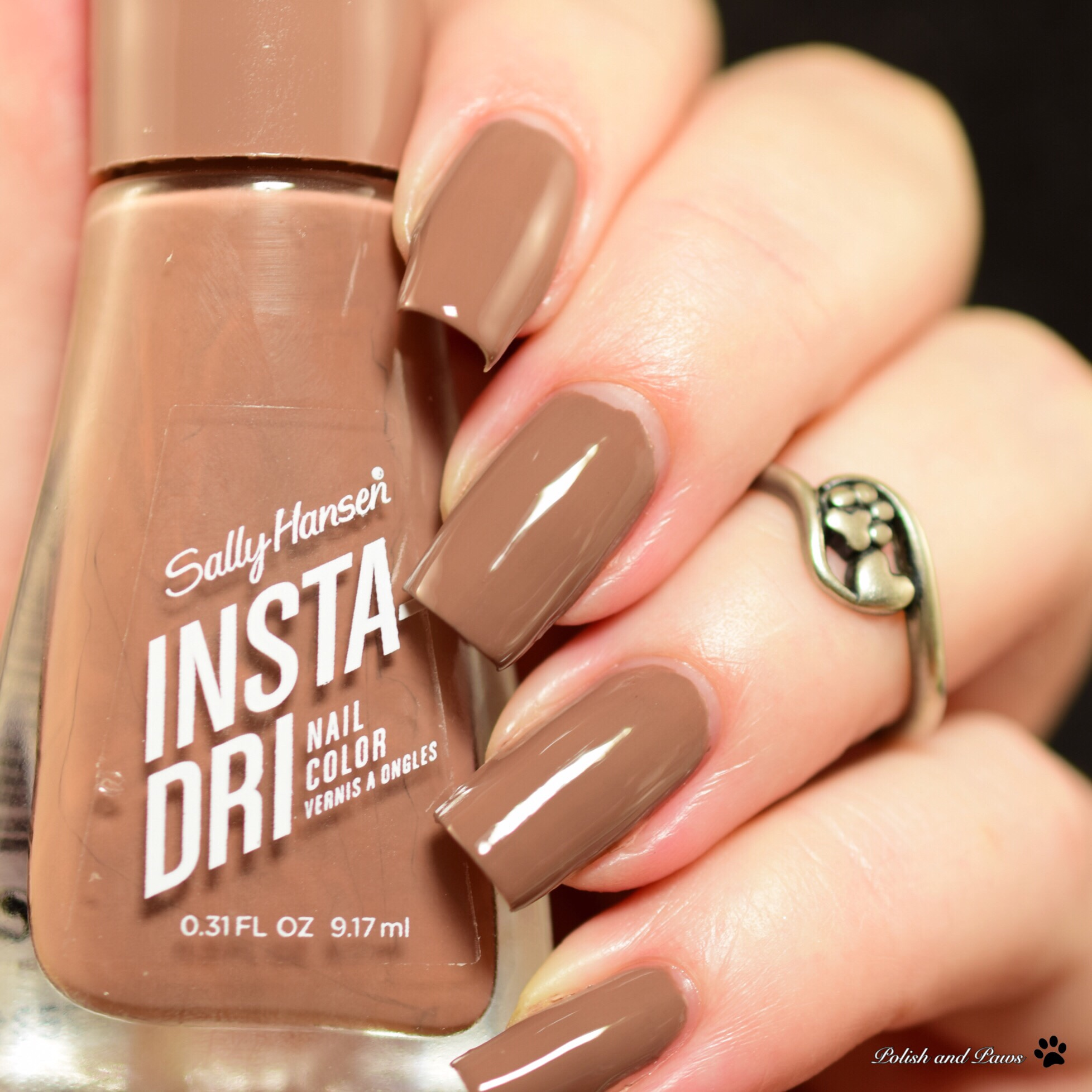 ac5b95e395 Sally Hansen Instra-Dri Swatch and Review | Polish and Paws
