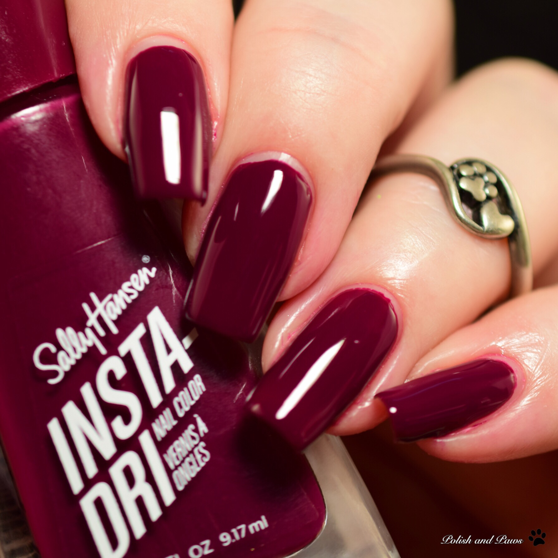 Sally Hansen Insta-Dri Just in Wine