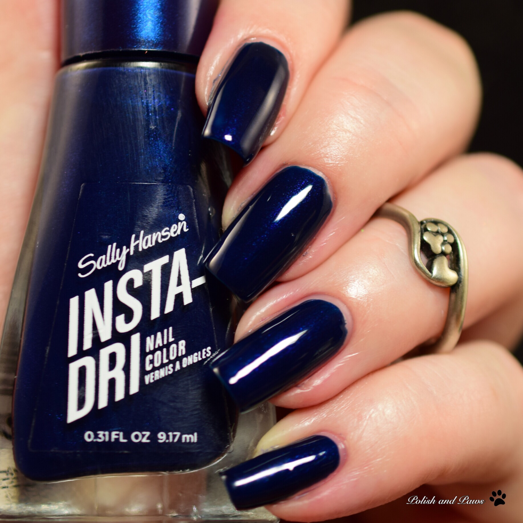 Sally Hansen Insta-Dri Midnight Drive
