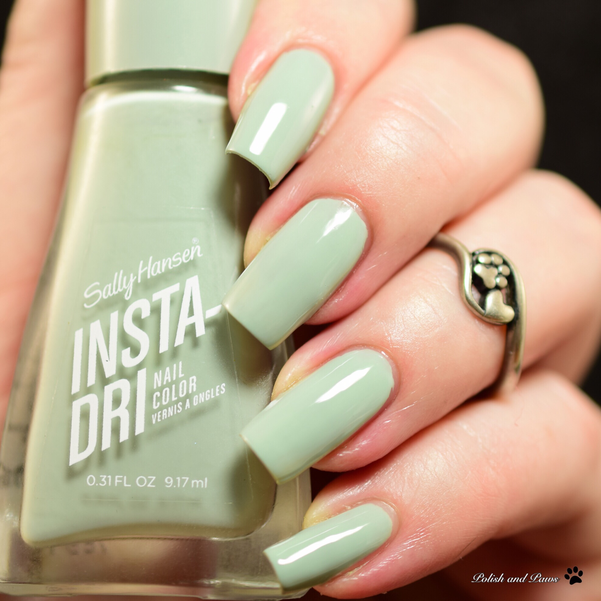 Sally Hansen Instra-Dri Swatch and Review | Polish and Paws