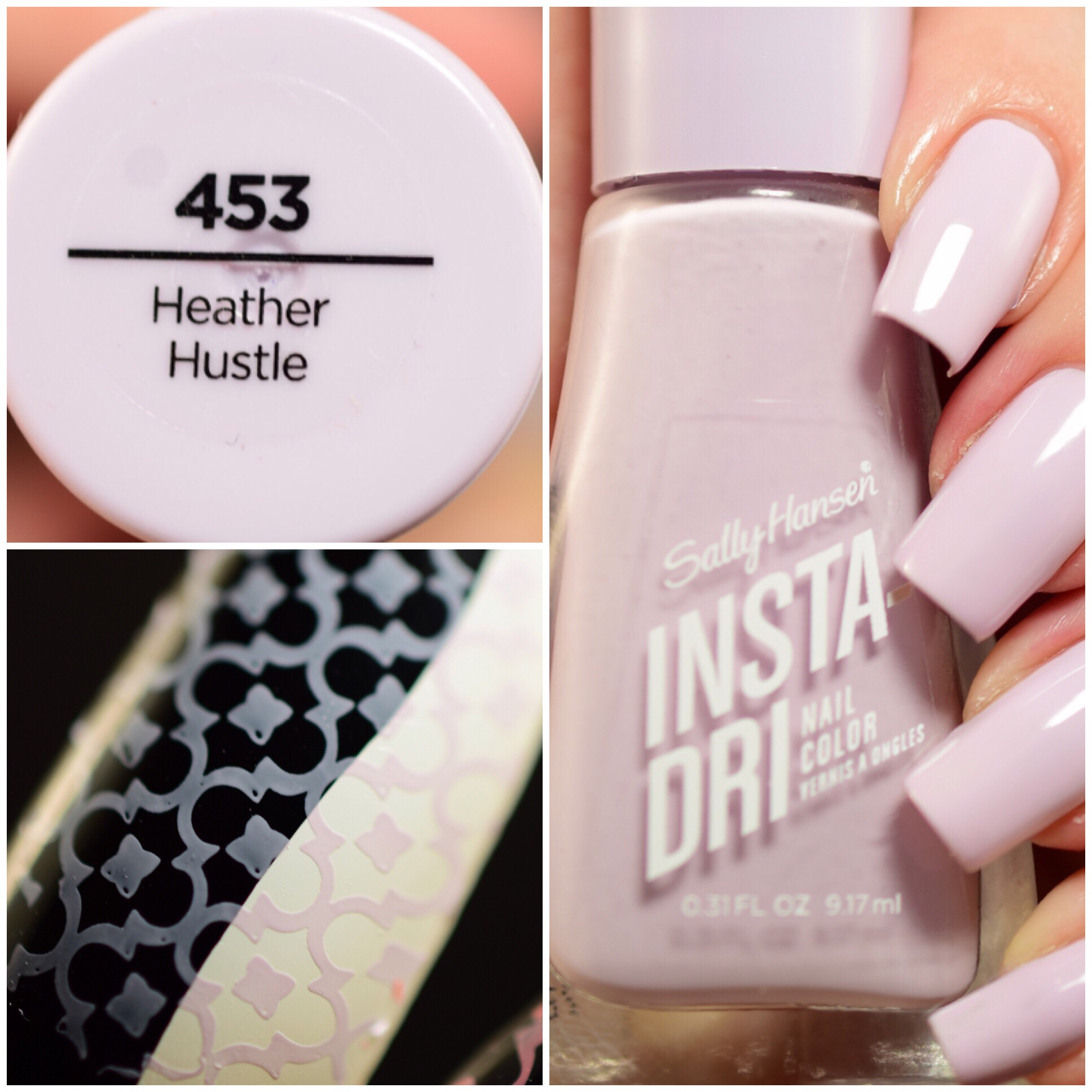 Sally Hansen Insta-Dri Heather Hustle