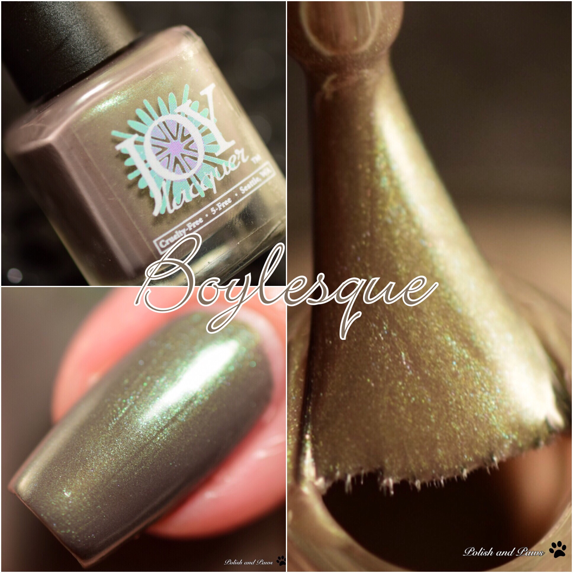 Joy Lacquer Boylesque