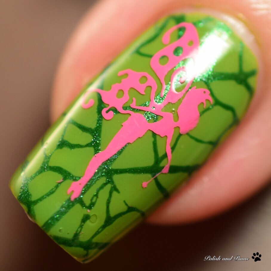The Digit-al Dozen does Stamping: Fairy Nails