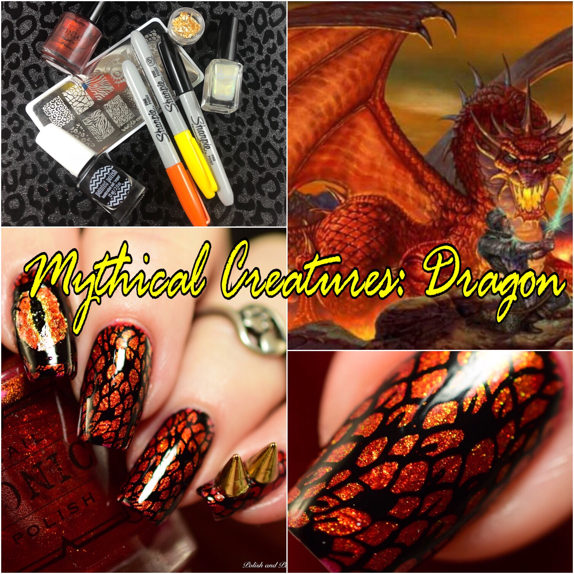 The Digit-al Dozen does Mythical Creatures: Dragon