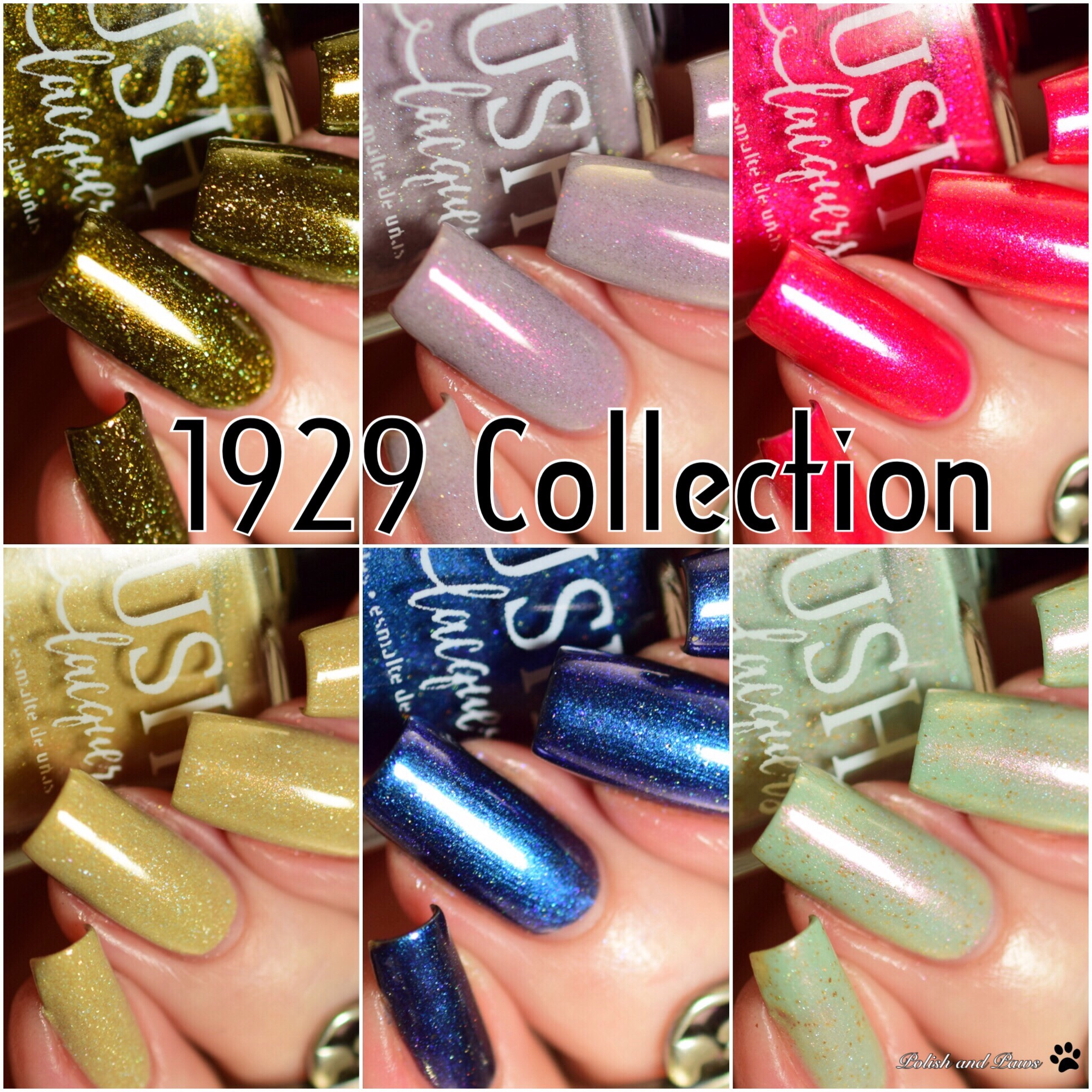 Blush Lacquers 1929 Collection
