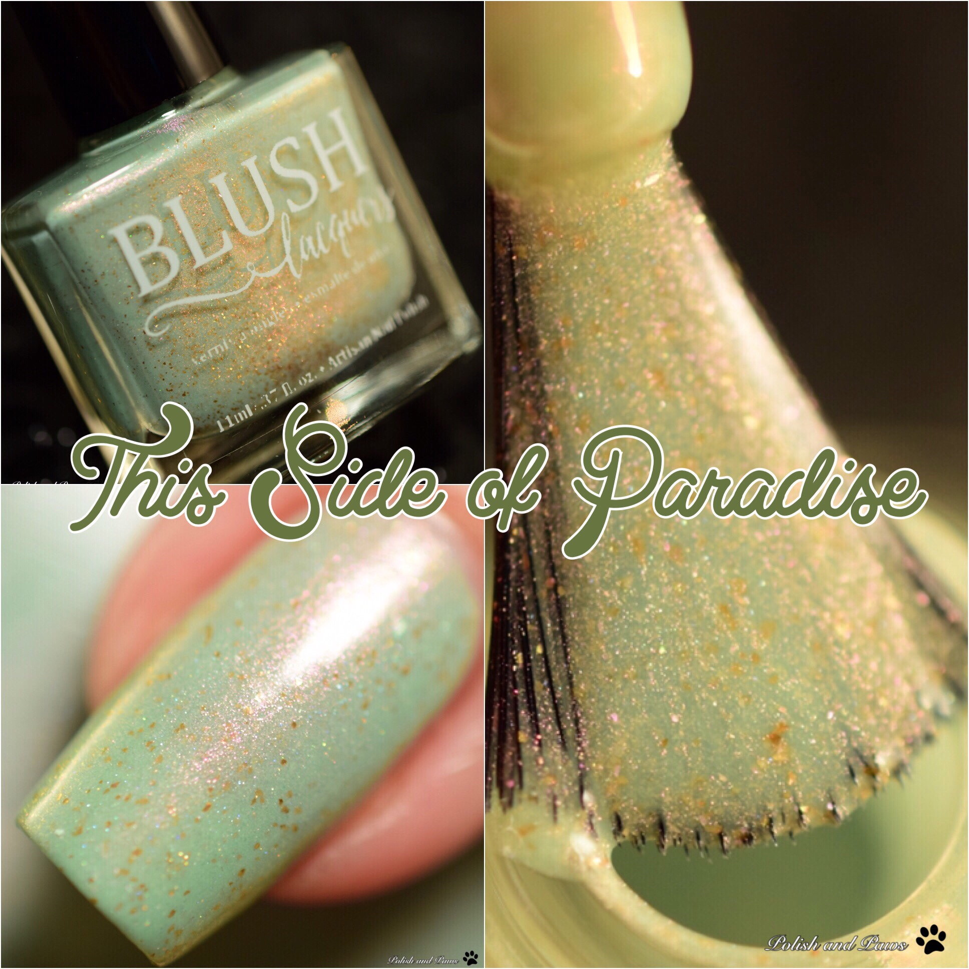 Blush Lacquers This Side of Paradise