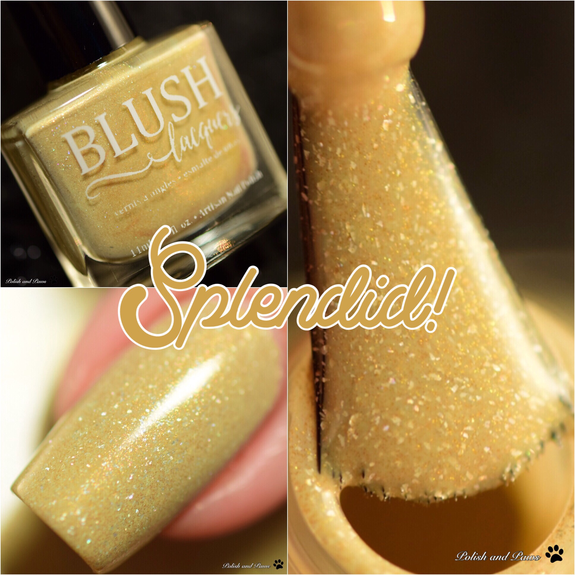 Blush Lacquers Splendid!