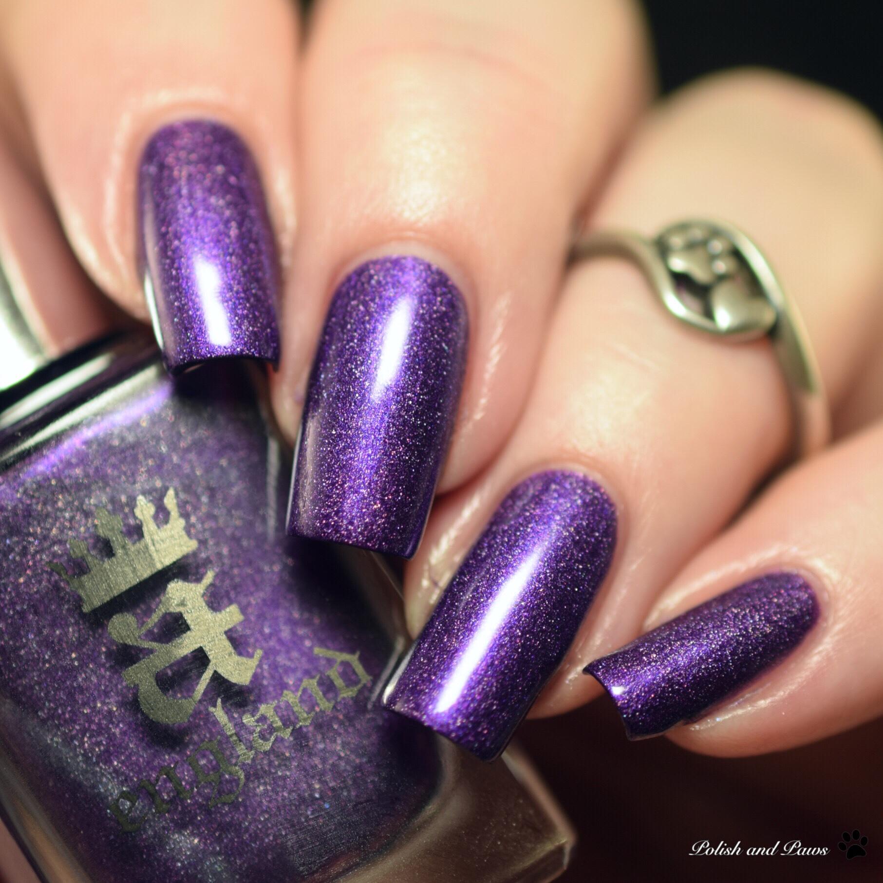 Beautometry My Mani Box ~ AEngland The Most Happy