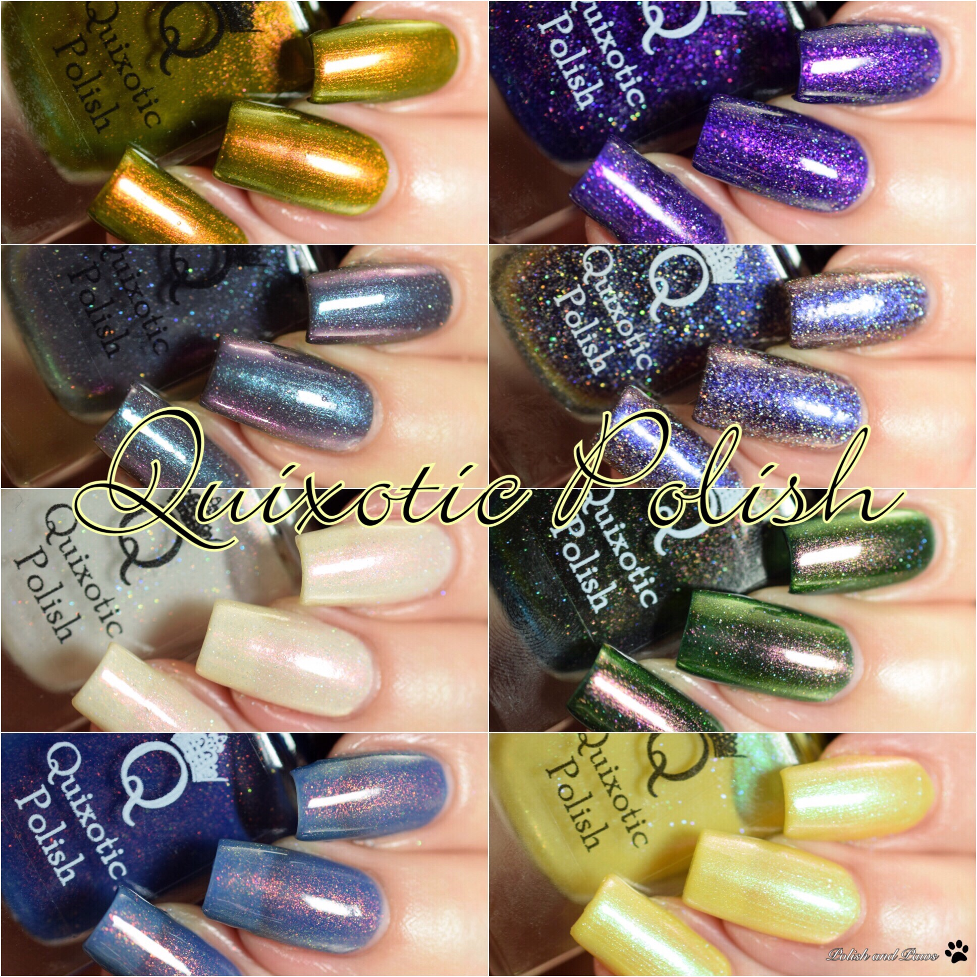 Quixotic Polish Swatch and Review