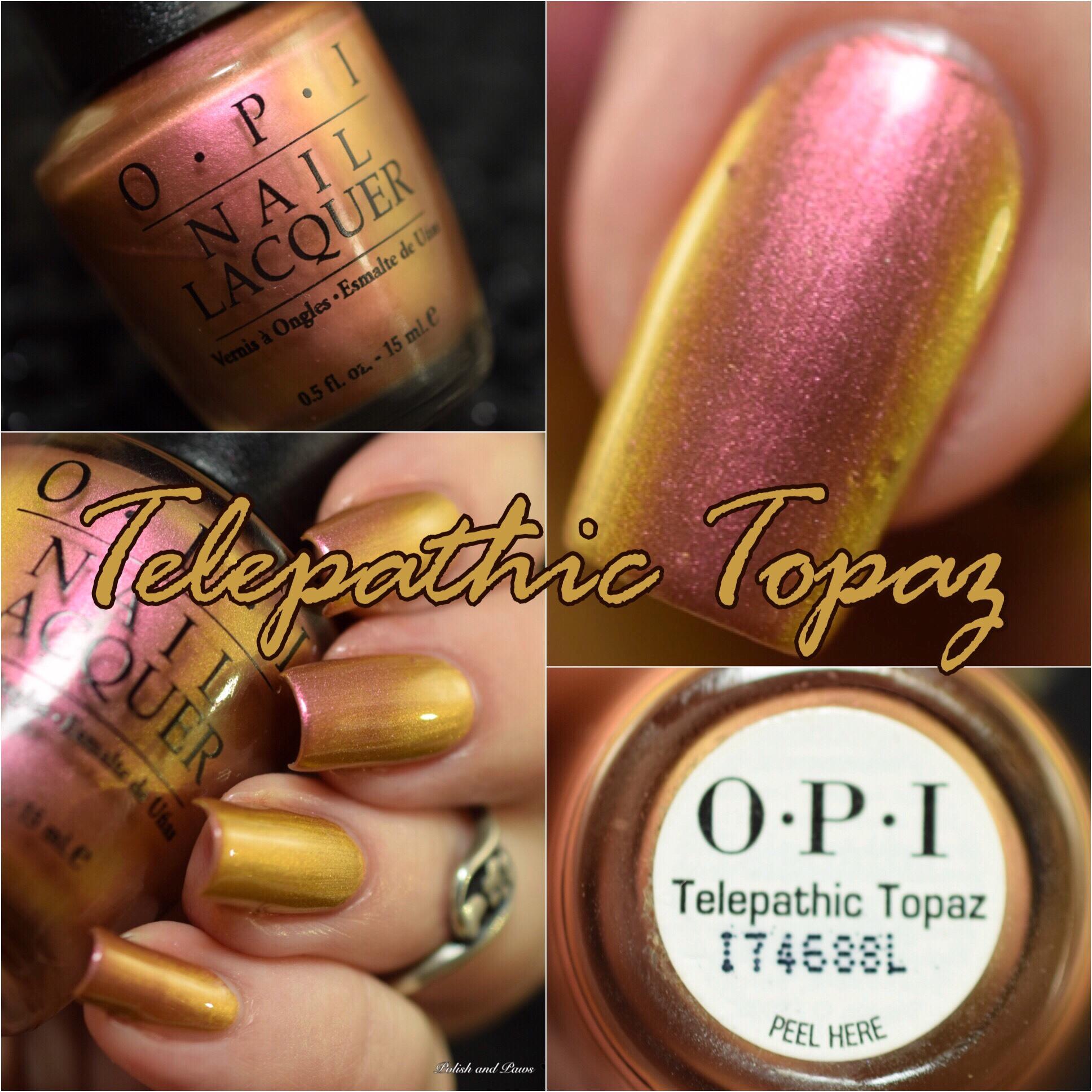 OPI Telepathic Topaz
