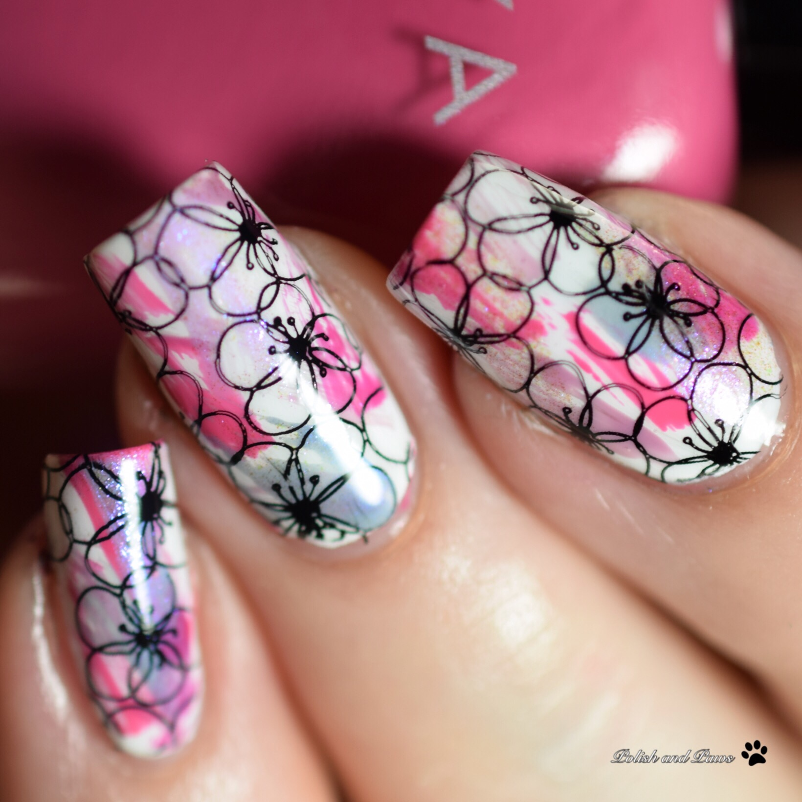 Zoya Thrive Nail Art
