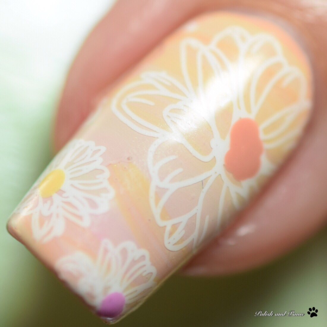 Nail Art ~ LeChat Dare to Wear English Rose Collection