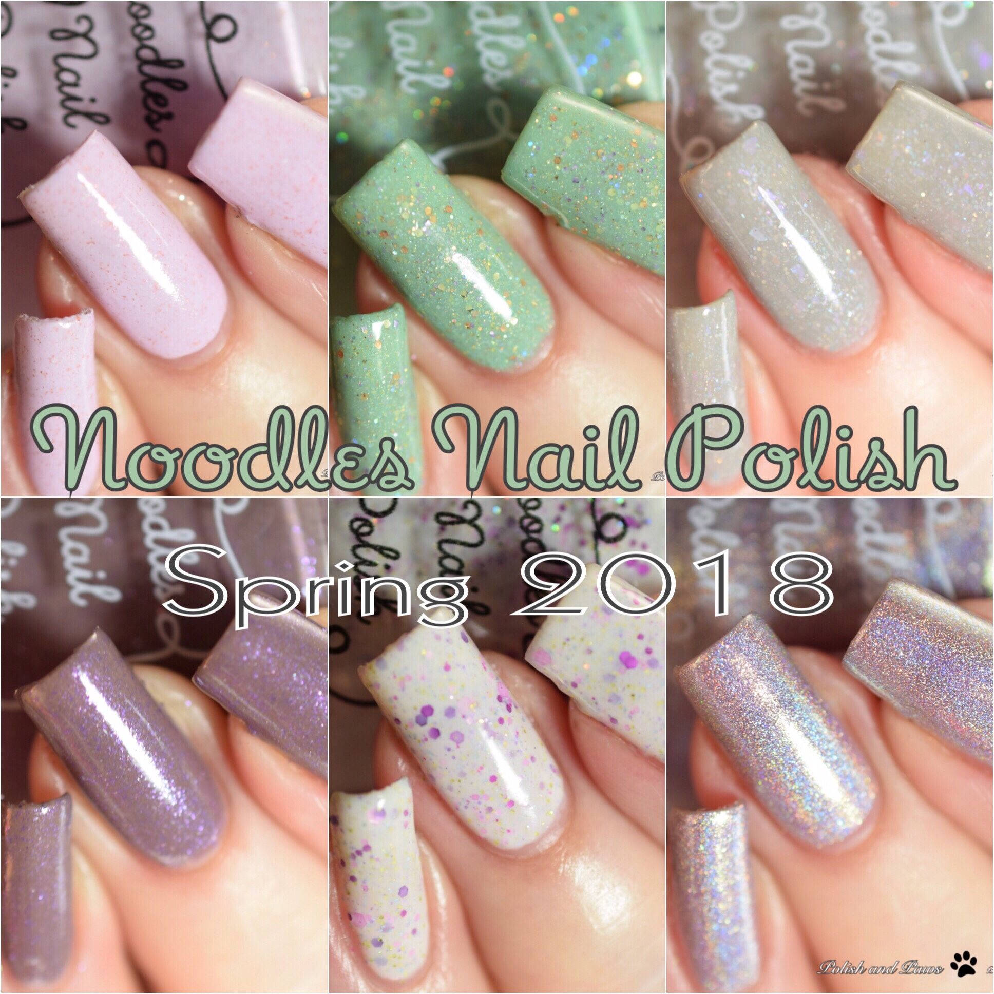 Noodles Nail Polish Spring 2018 Collection