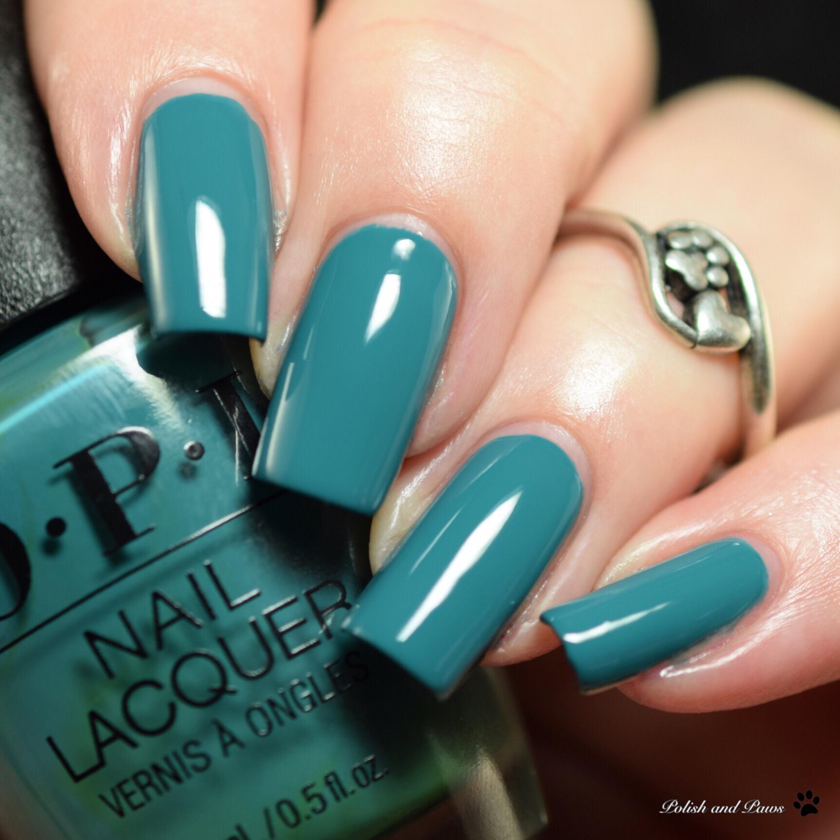 Blue Nail Polish Names: OPI Grease Collection Summer 2018