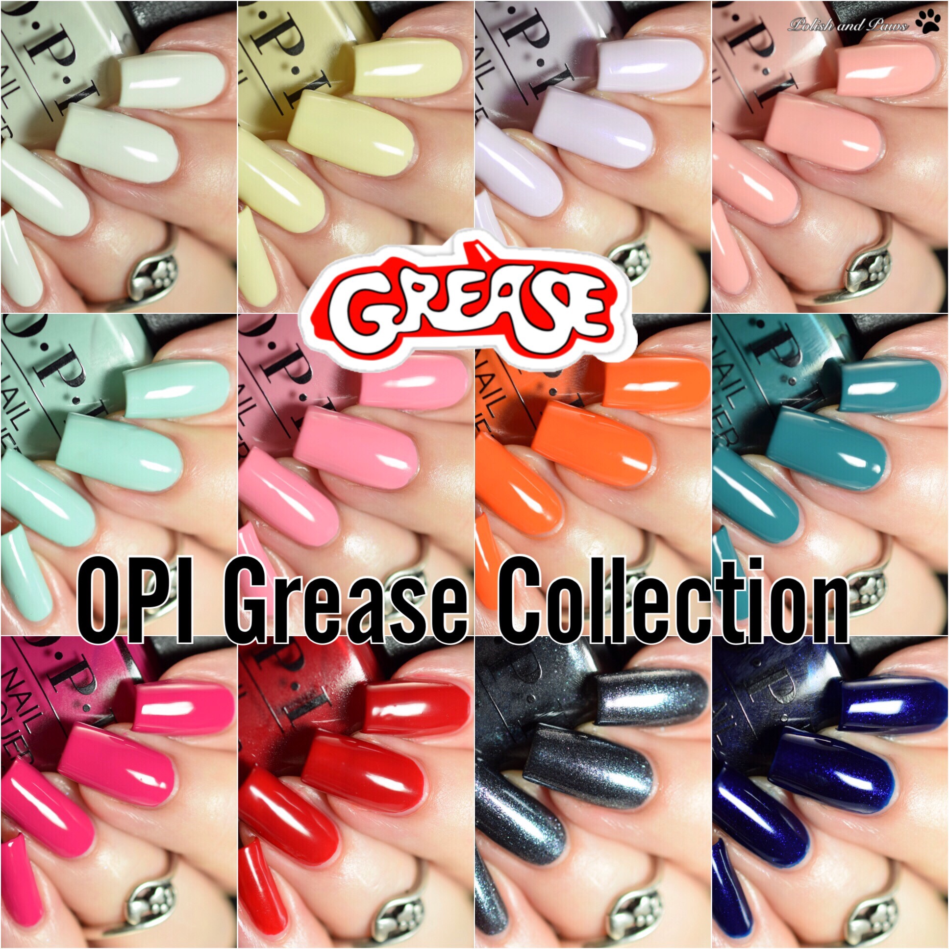 OPI Grease Collection Summer 2018
