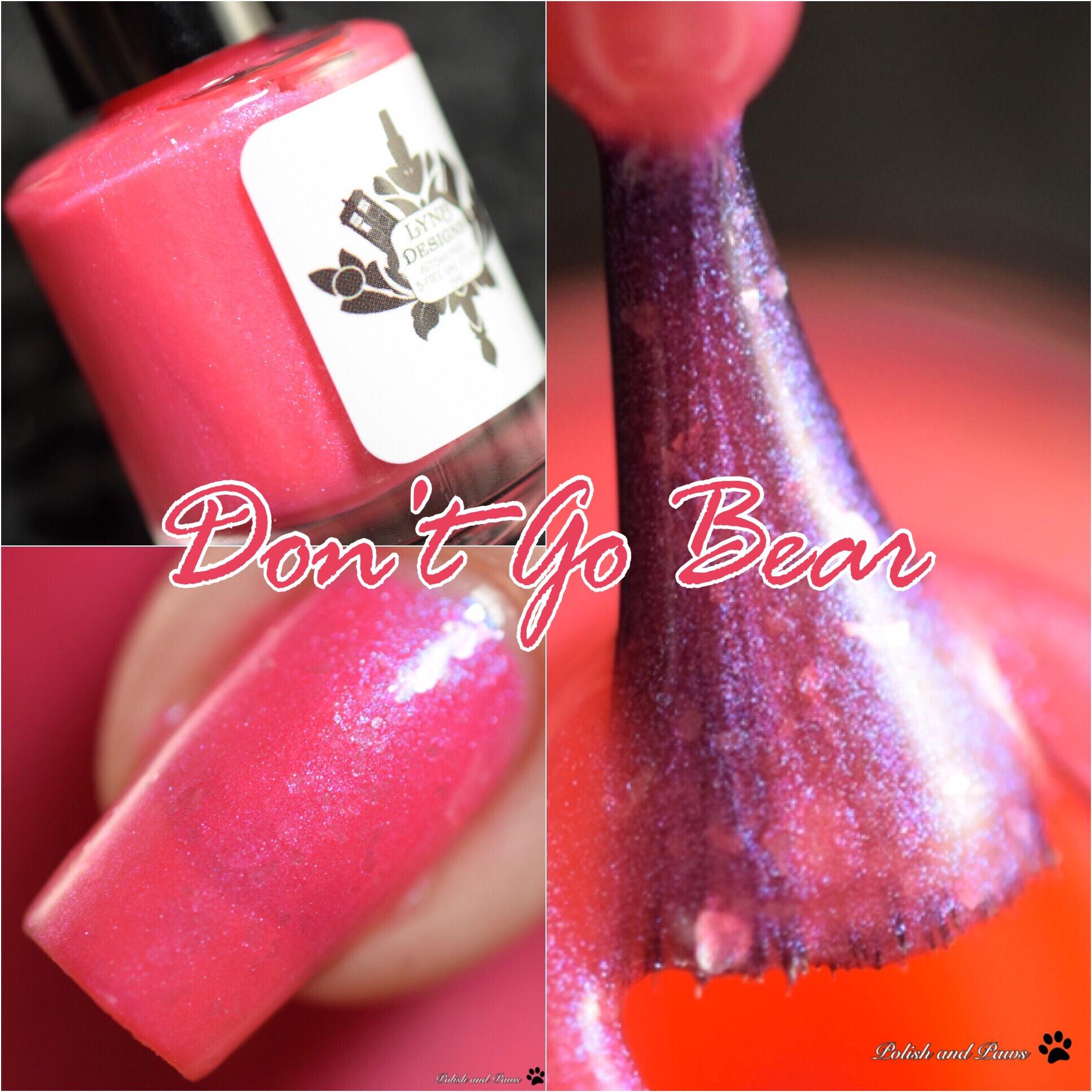 LynB Designs Don't go Bear