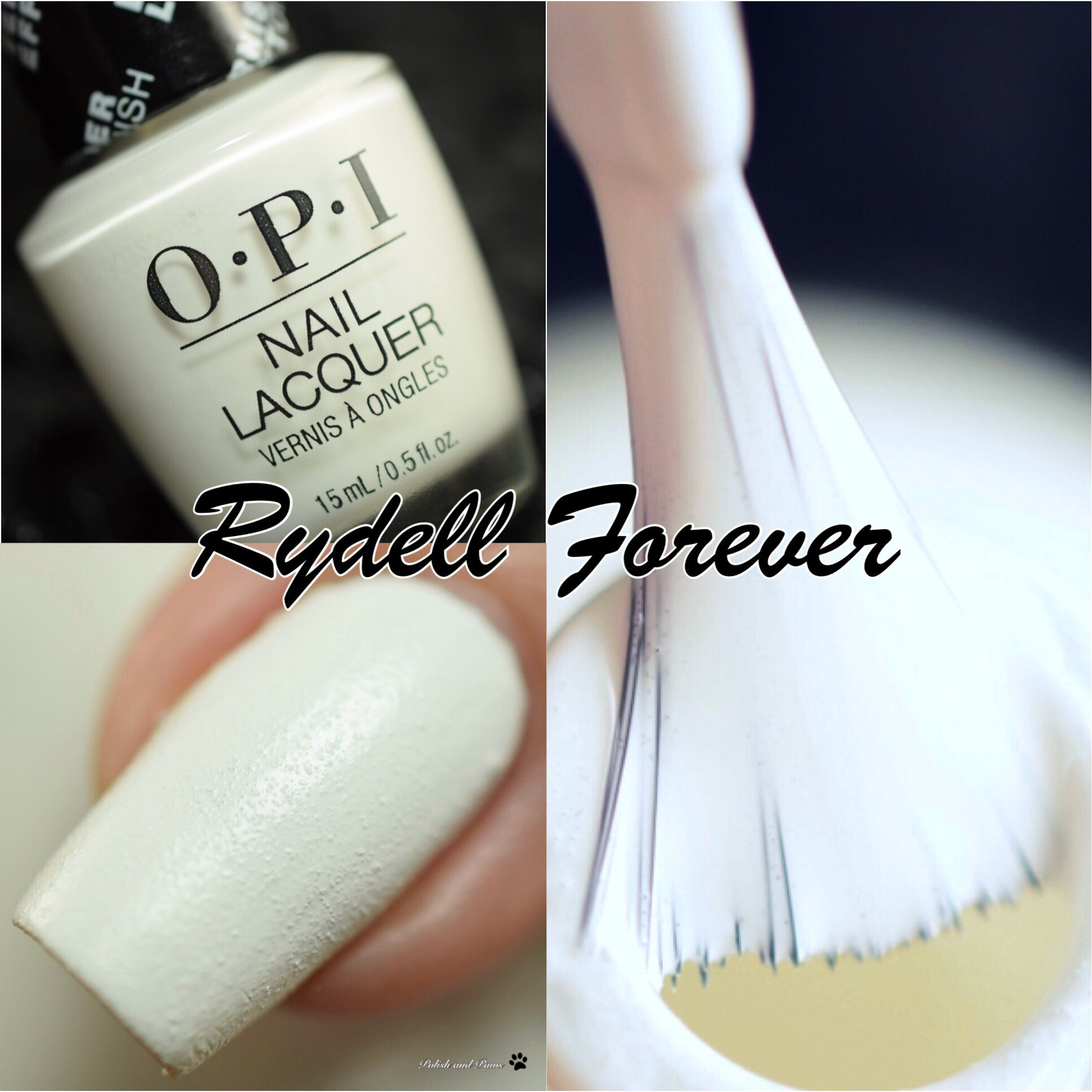 OPI Leather Finish Rydell Forever