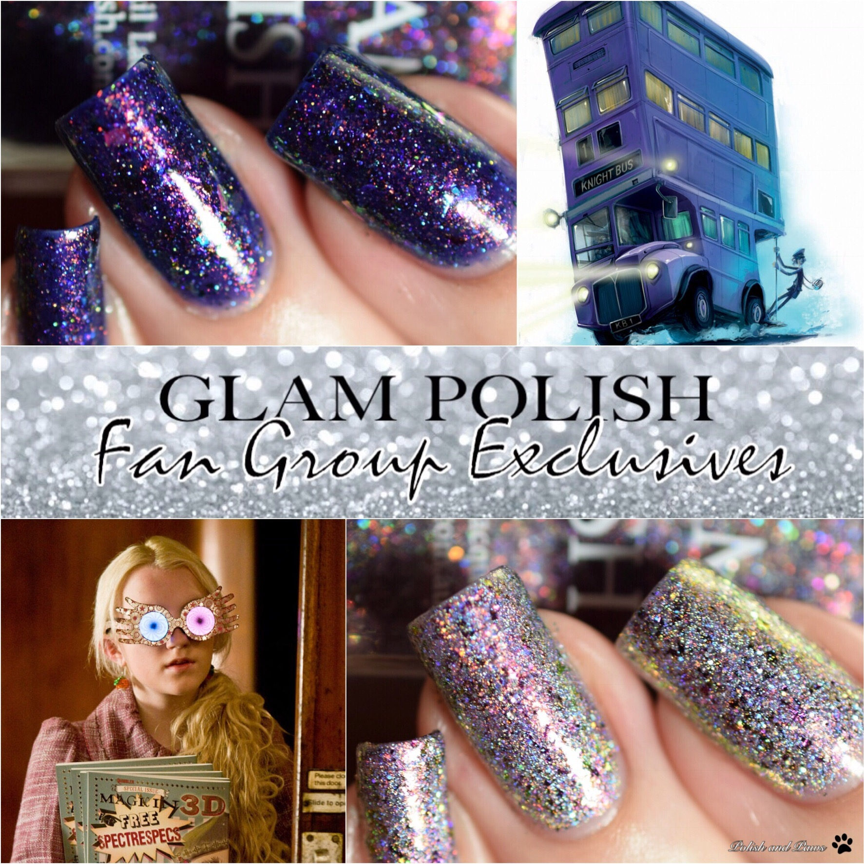 Glam Polish May Fan Group Exclusives