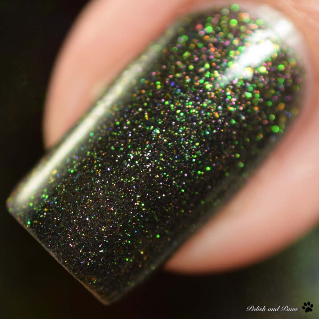 Honey Bunny Lacquer Dark Side of the Moon