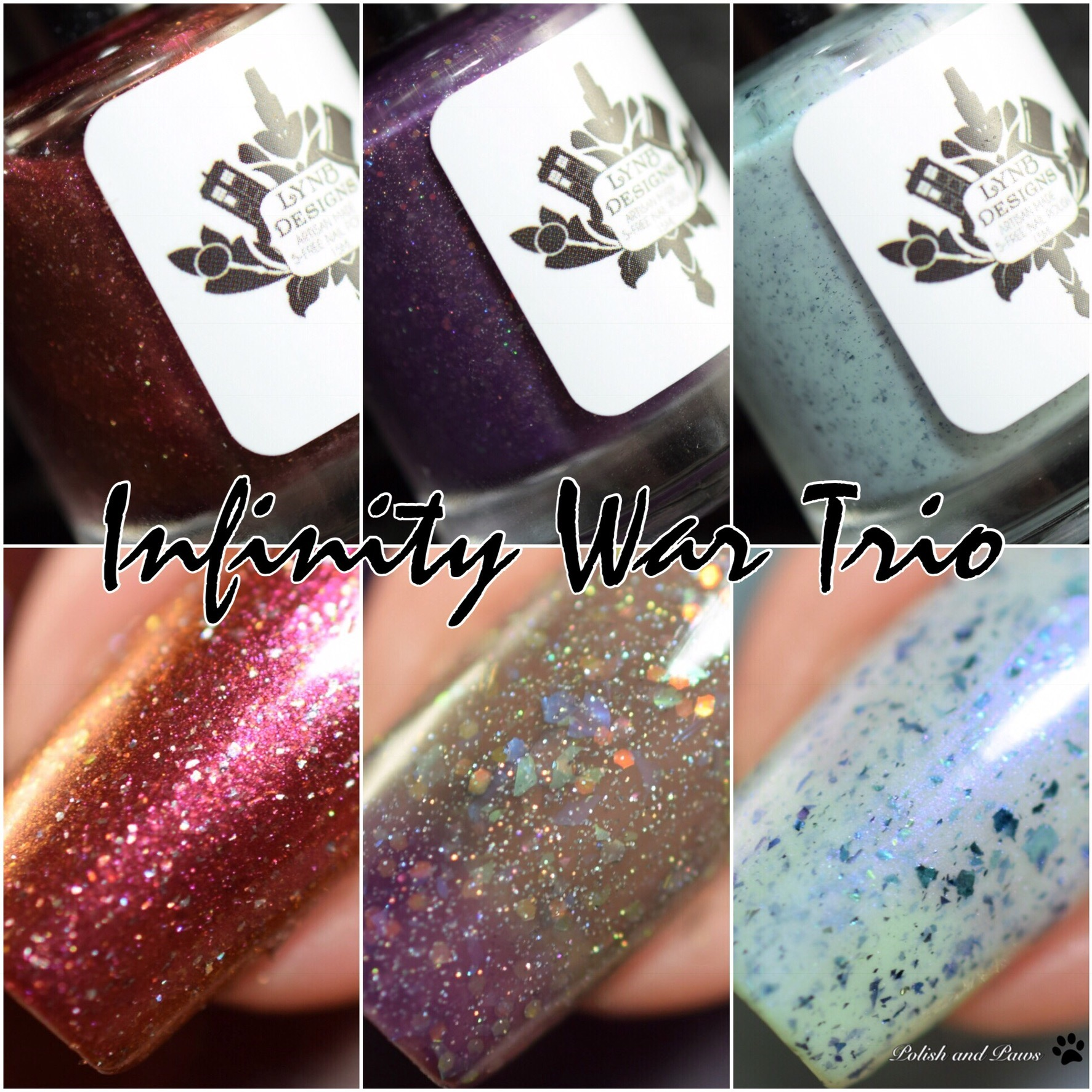 LynB Designs Infinity War Trio | Polish and Paws