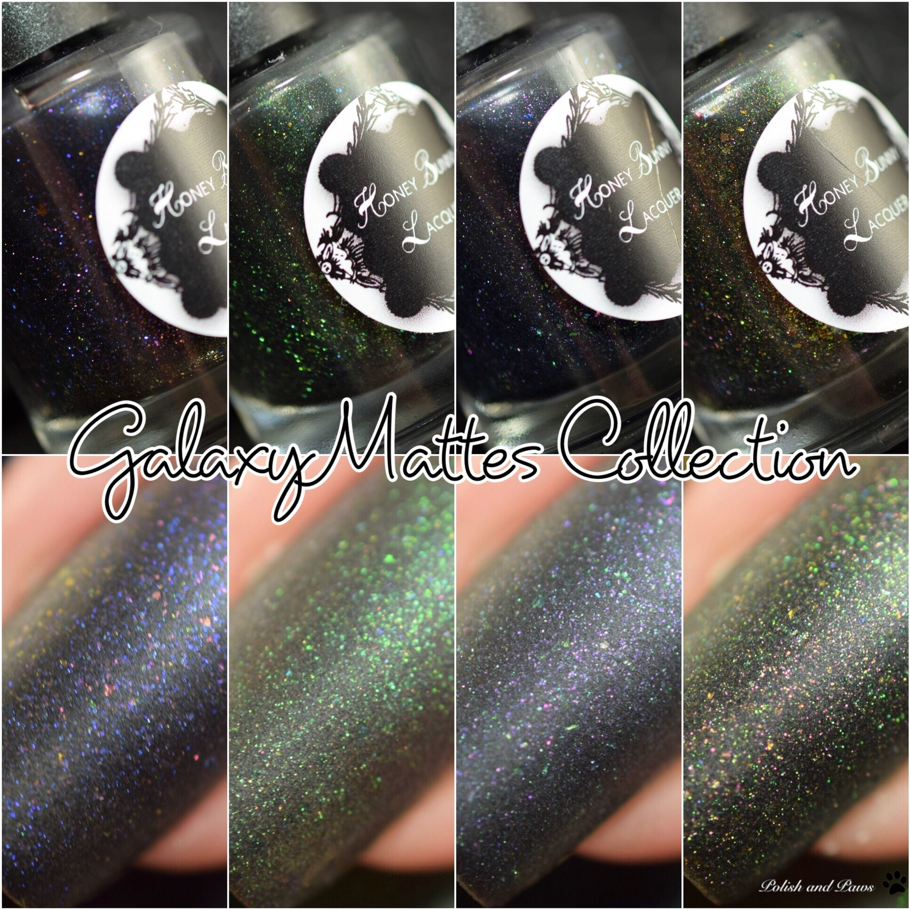 Honey Bunny Lacquer Galaxy Mattes Collection