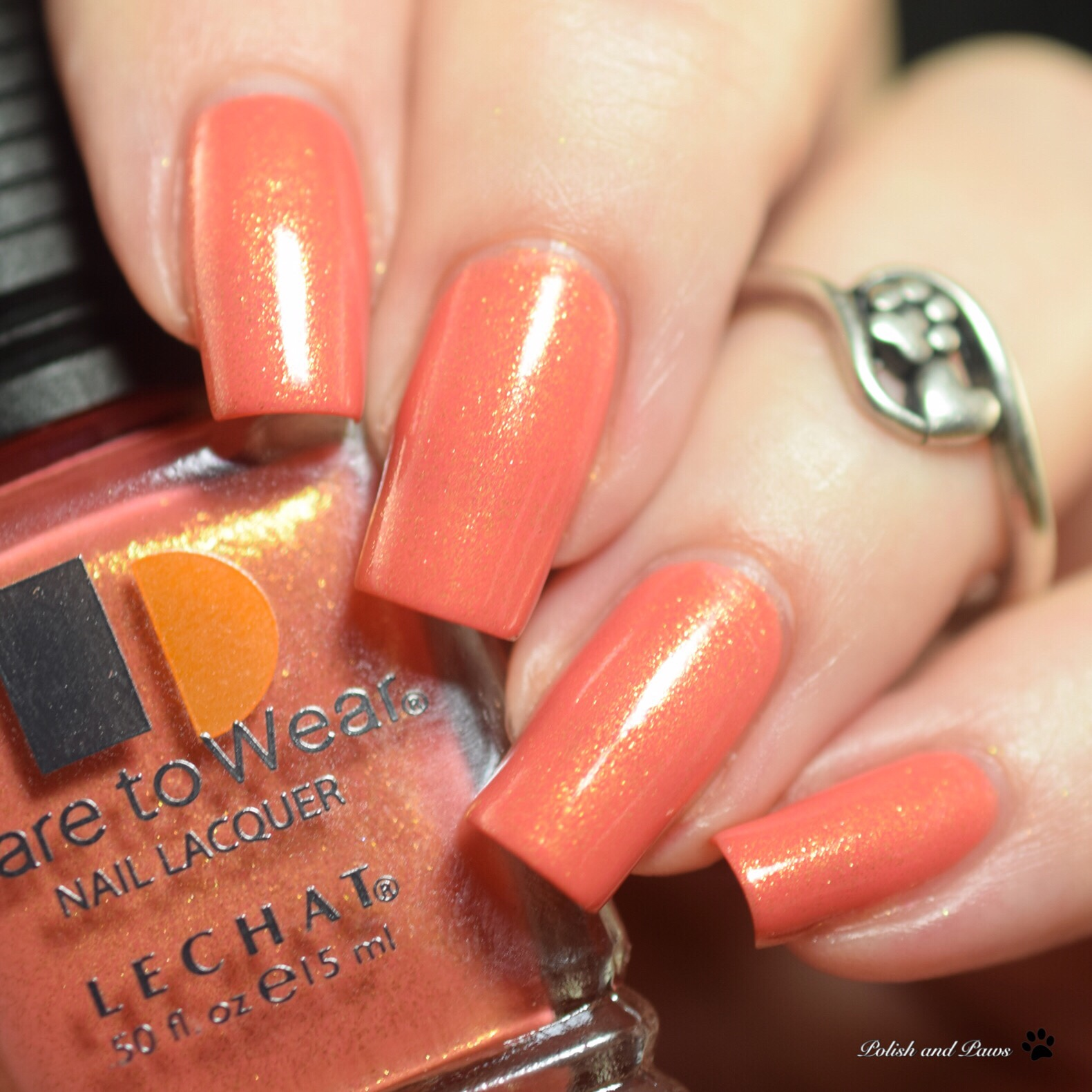 LeChat Nail Lacquer Hearts on Fire