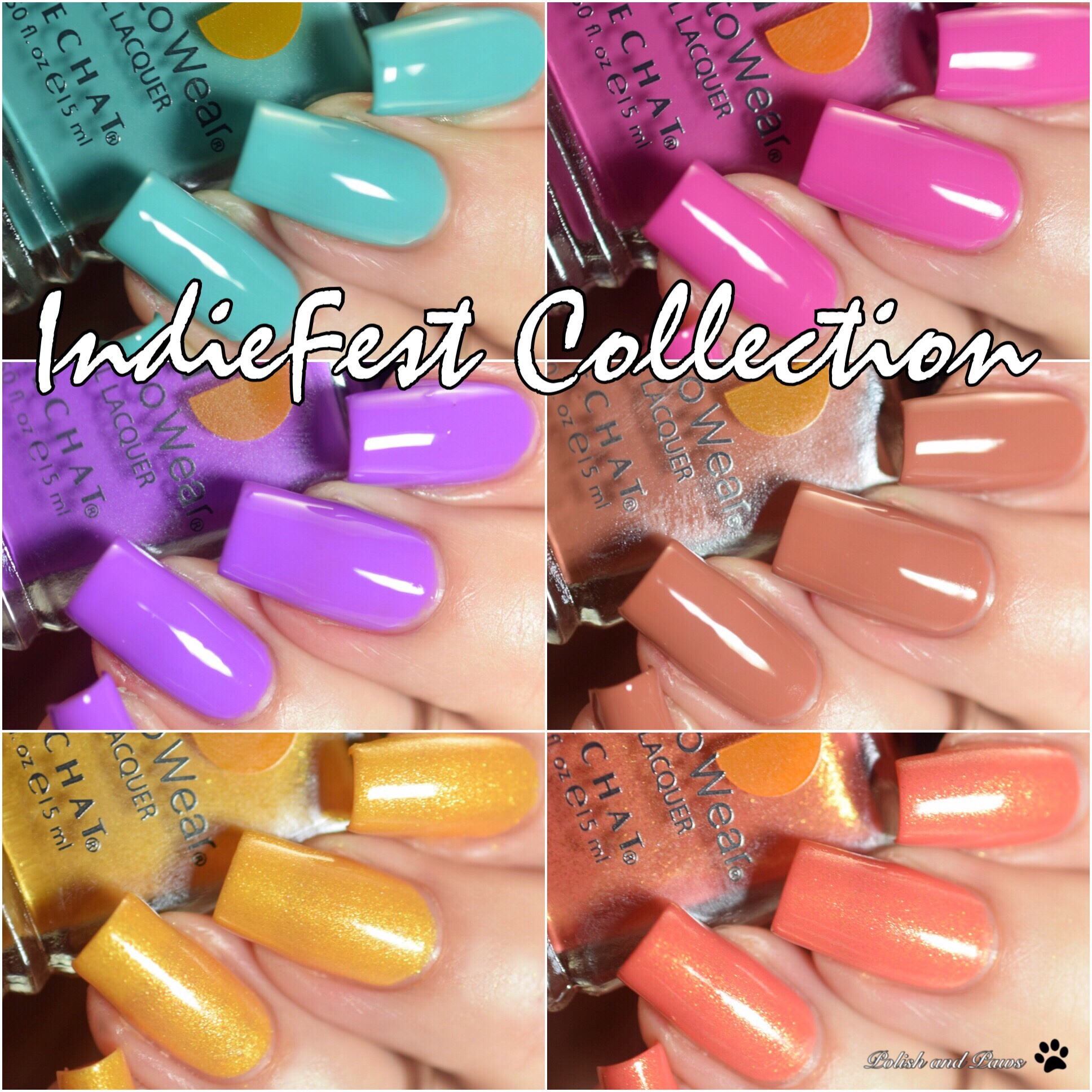 LeChat Nails IndieFest Collection Summer 2018