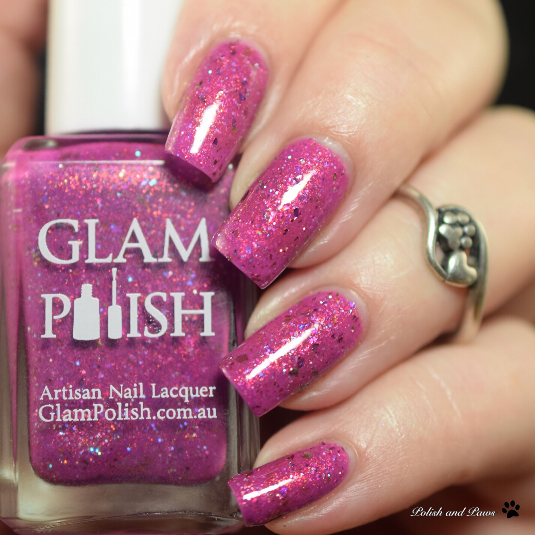 Glam Polish Go Get Em, Goggly Bear