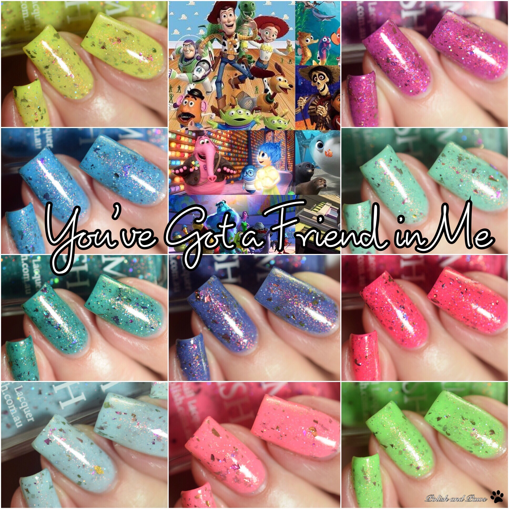 Glam Polish You've Got a Friend in Me Collection ~ Limited Edition
