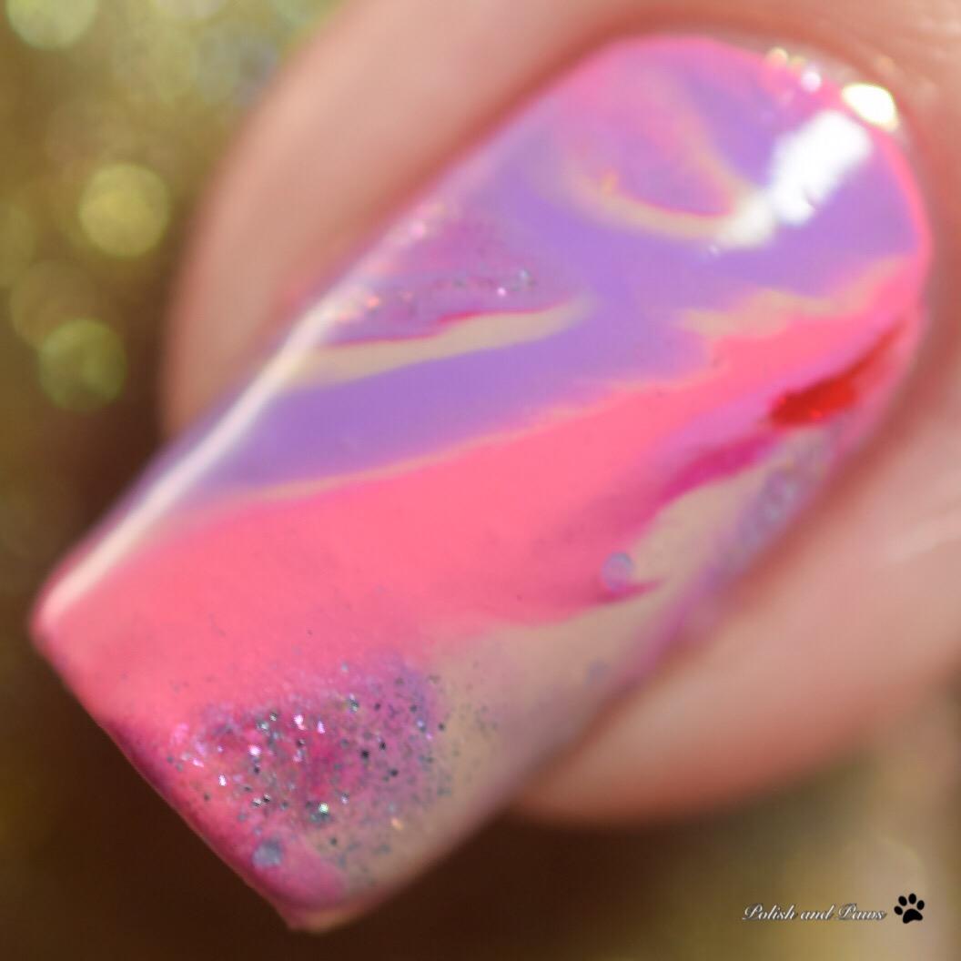 Zoya Sunshine Collection Drip Marble