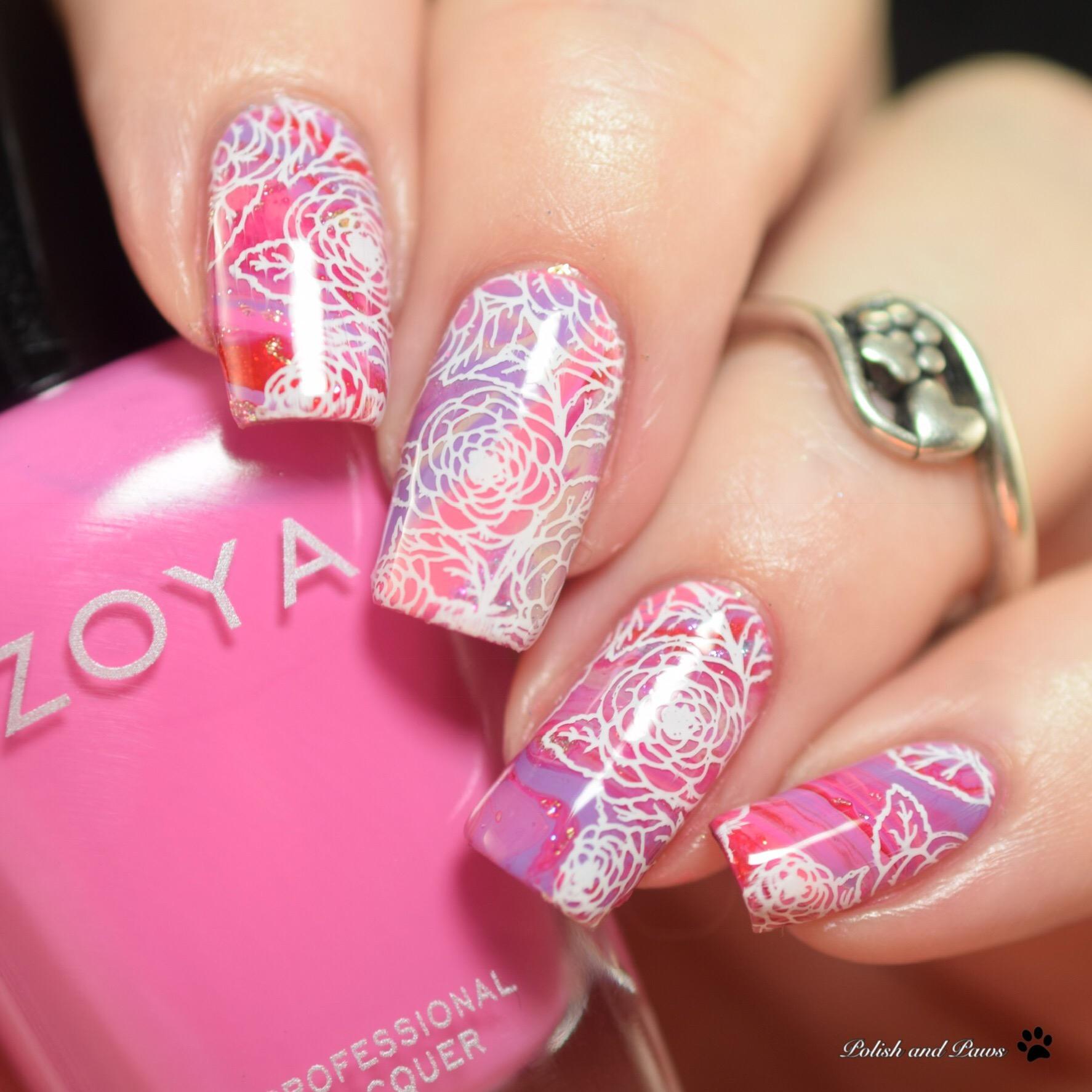 Zoya Sunshine Collection Nail Art