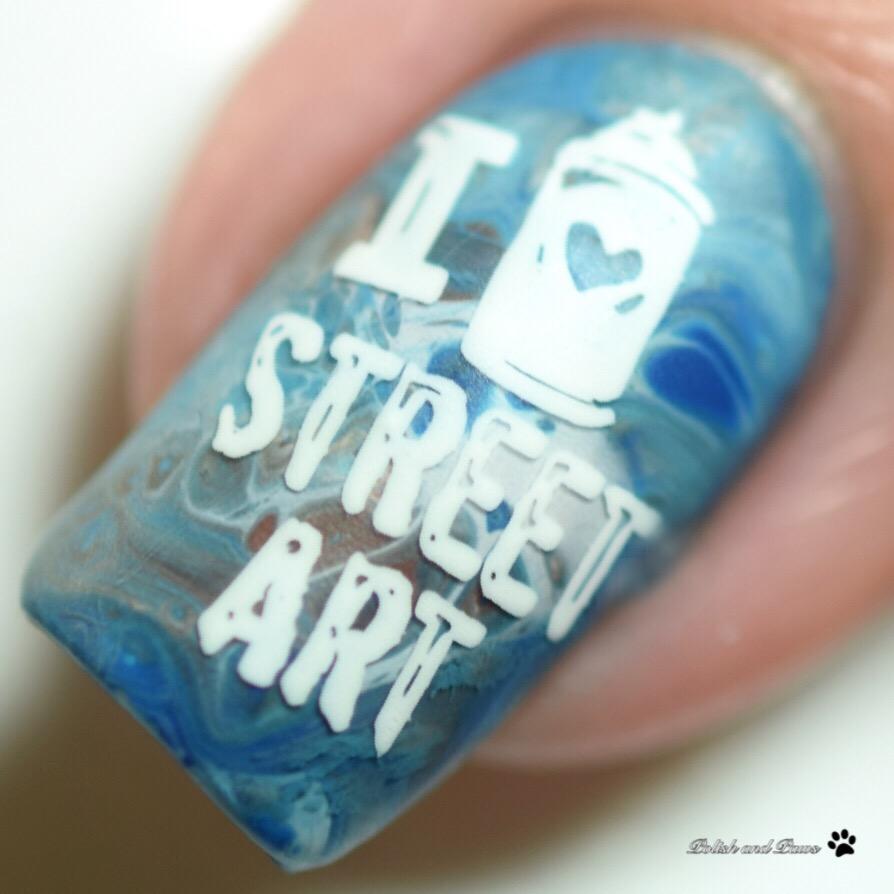Urban Grunge Nail Art